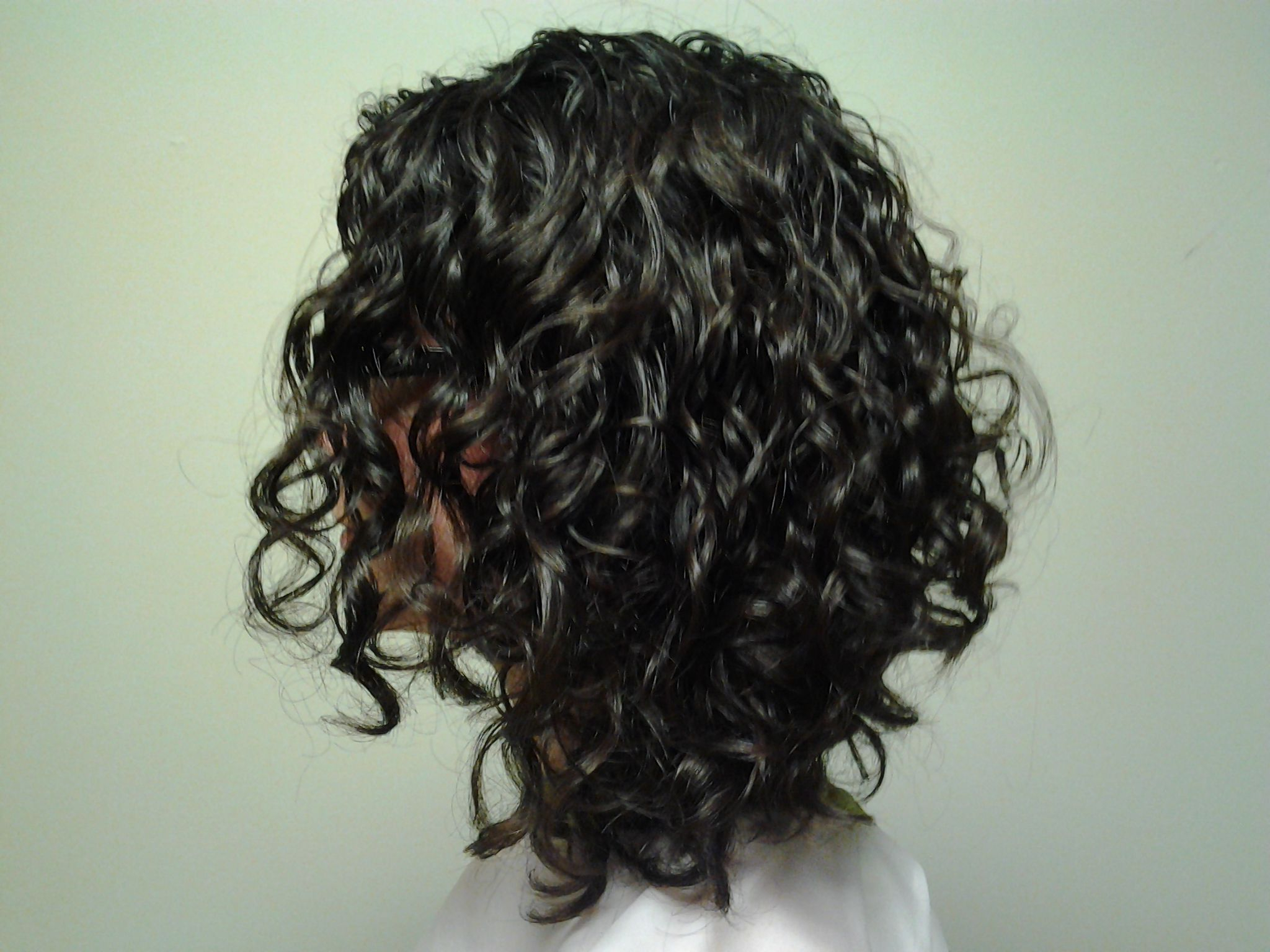 Inverted Naturally Curly Bob Front View – Google Search For Current Naturally Curly Bob Hairstyles (Gallery 3 of 20)