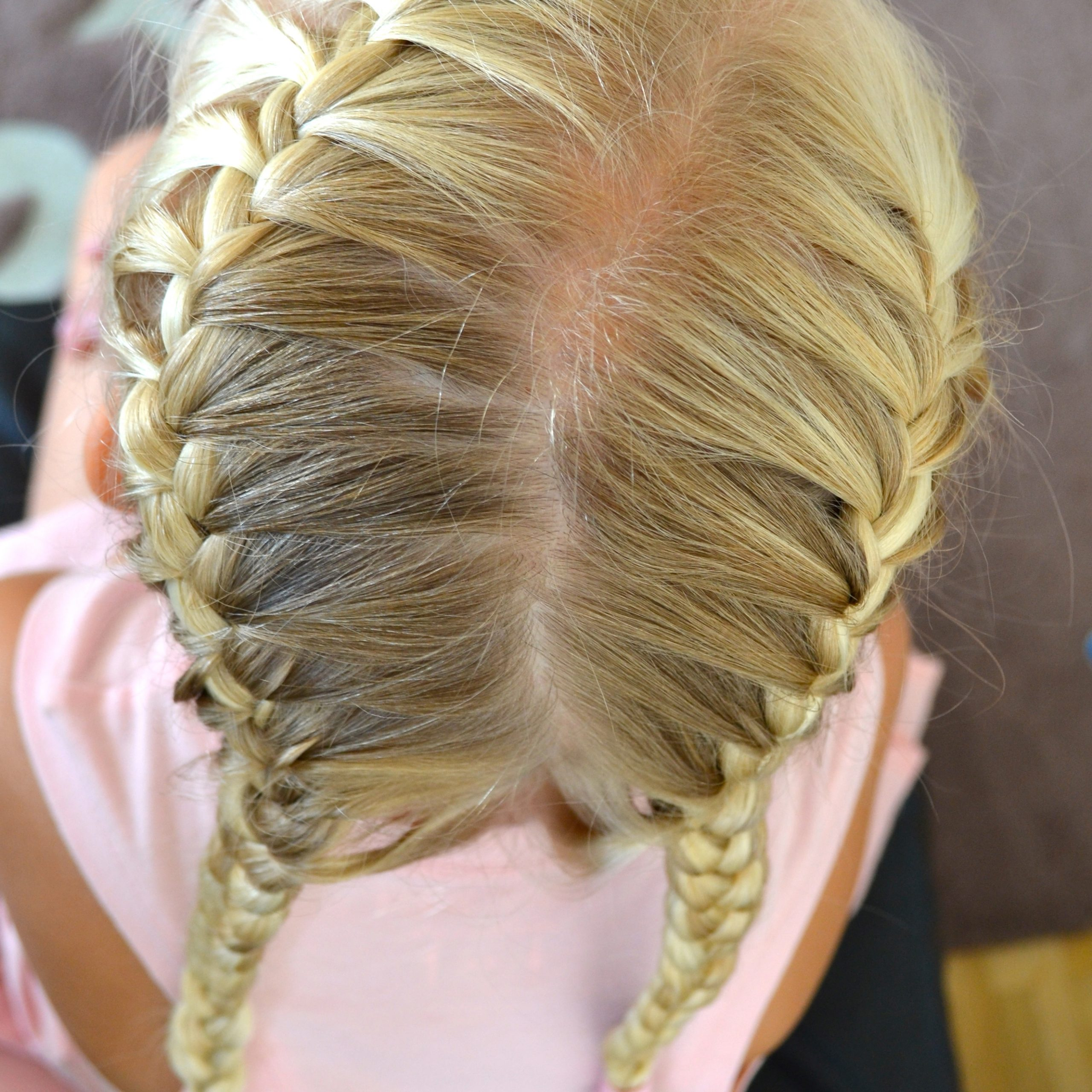 Jenni's Hairdays Inside Most Recent Asymmetrical French Braid Hairstyles (Gallery 8 of 20)