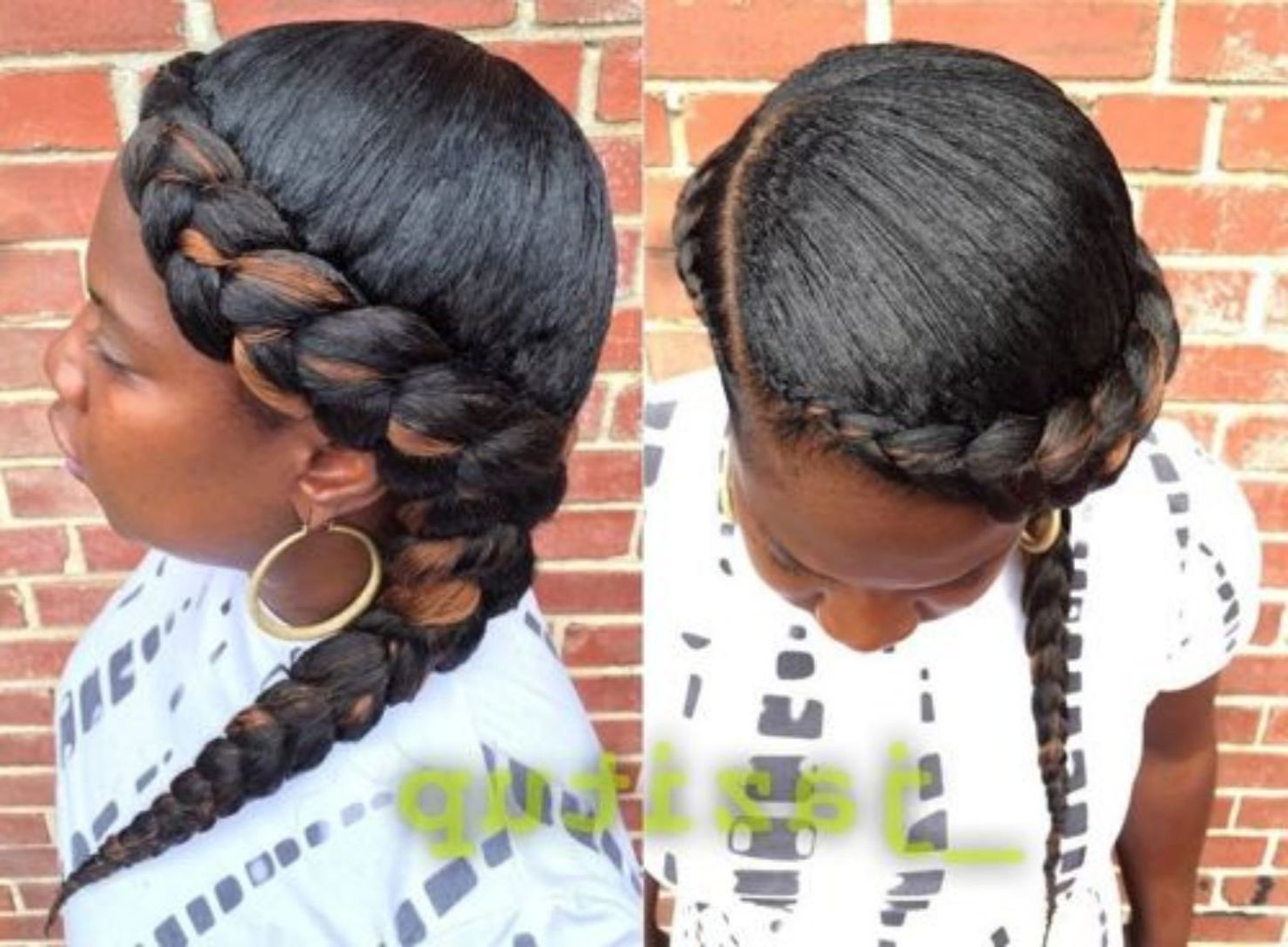 Laid Braids In (View 12 of 20)
