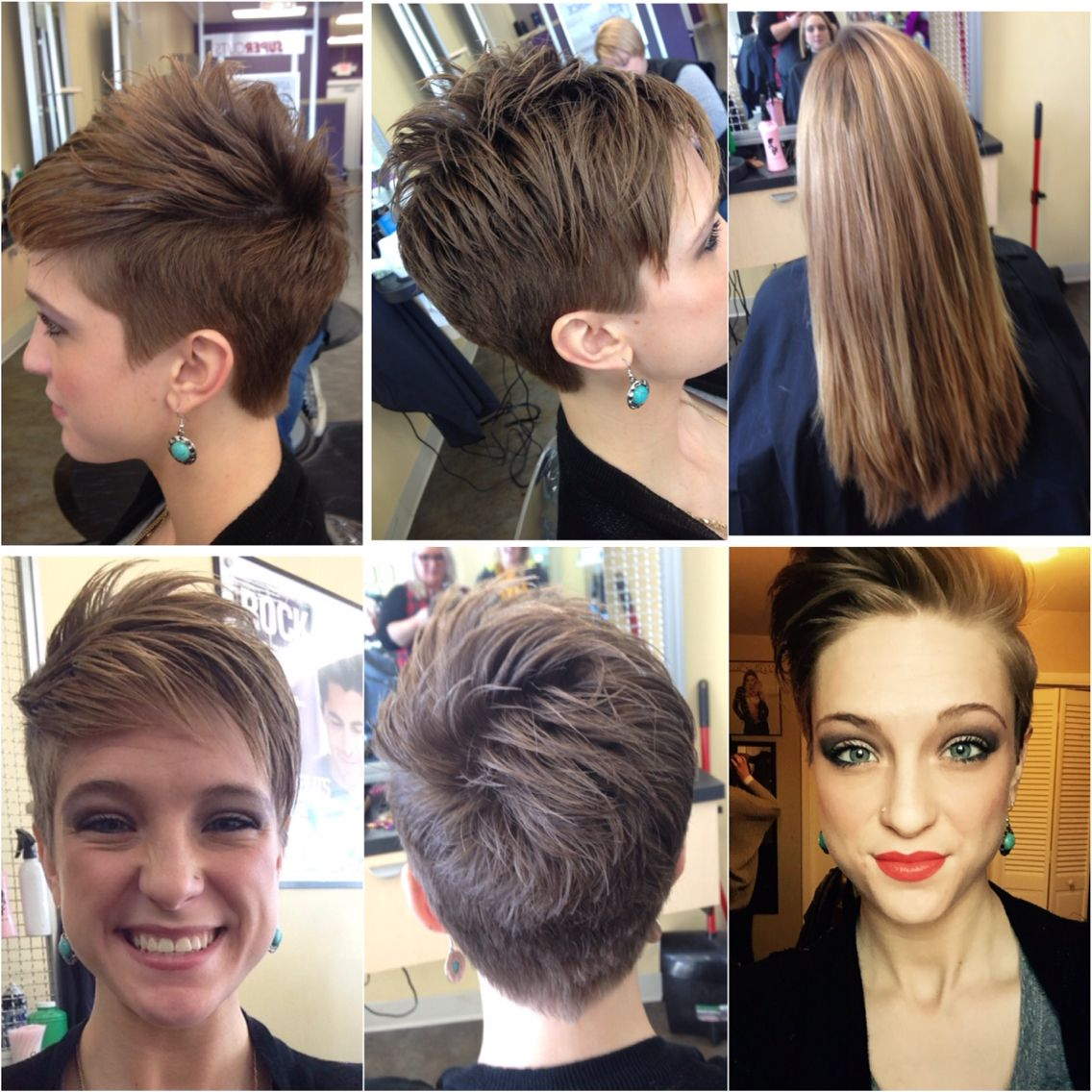 Latest Disconnected Pixie Haircuts With An Undercut With Pin On Hurr (View 11 of 20)