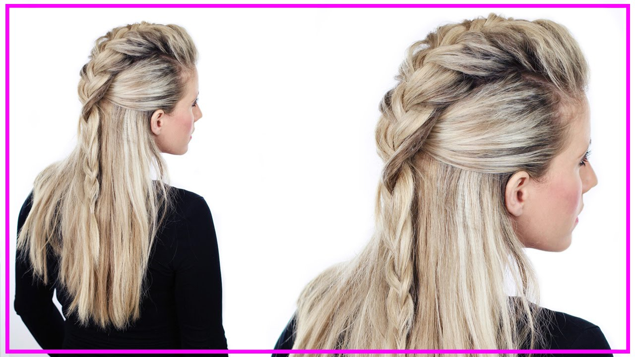 Latest Faux Hawk Braid Hairstyles For Half Up Faux Hawk Tutorial (View 13 of 20)