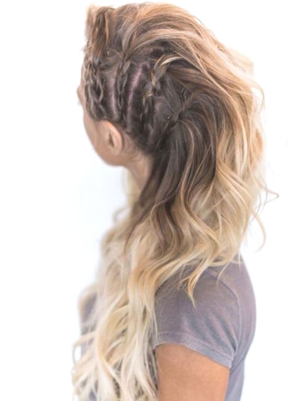 Latest Faux Hawk Braid Hairstyles Within Hairstyles : Braided Faux Hawk Hairstyles Alluring Avante (View 14 of 20)