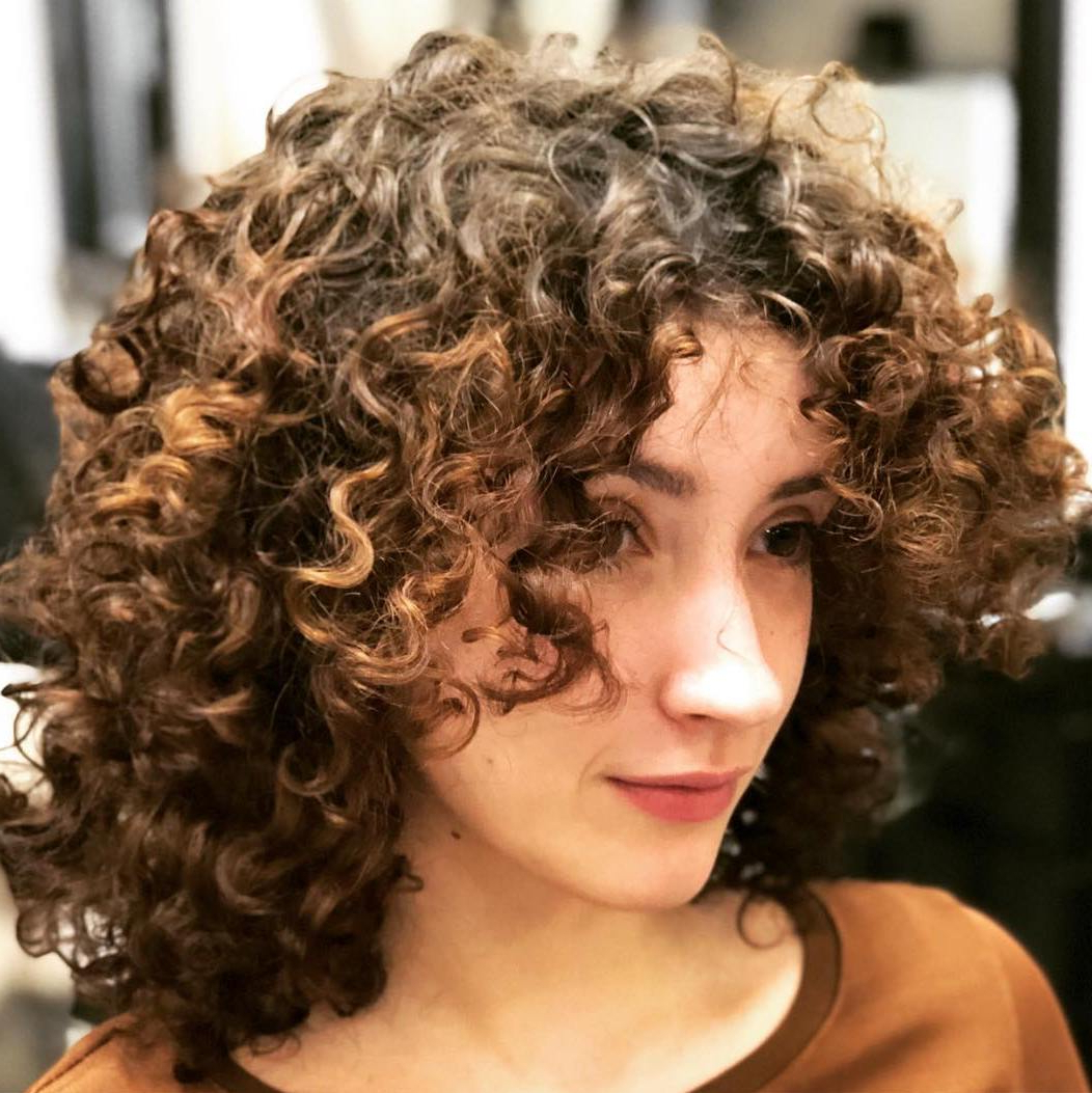 Latest Permed Bob Hairstyles Pertaining To 35 Cool Perm Hair Ideas Everyone Will Be Obsessed With In (View 9 of 20)