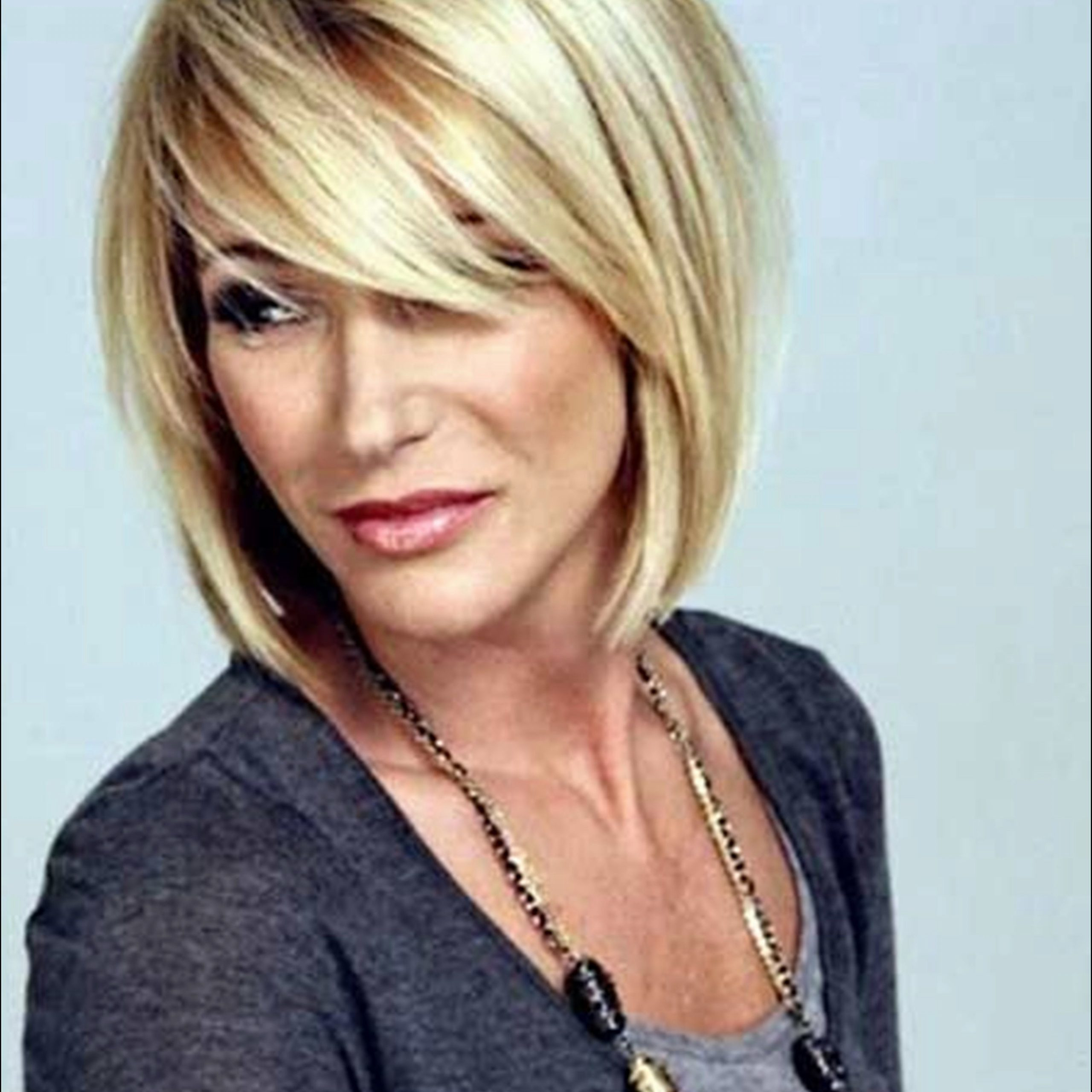 Latest Razor Haircuts With Long Bangs Throughout Asymmetrical Short Bob Haircut For Women This Is A Chic (View 15 of 20)