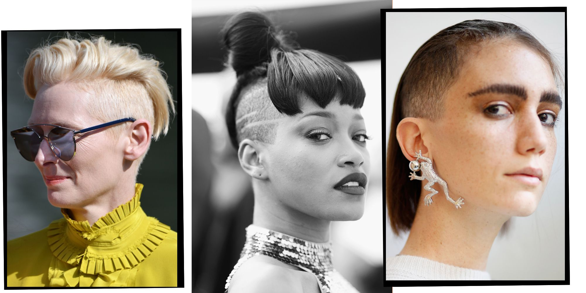 Latest Shaved Undercuts Throughout 11 Undercut Hairstyles For Women Proving Shaven Heads Are (View 8 of 20)