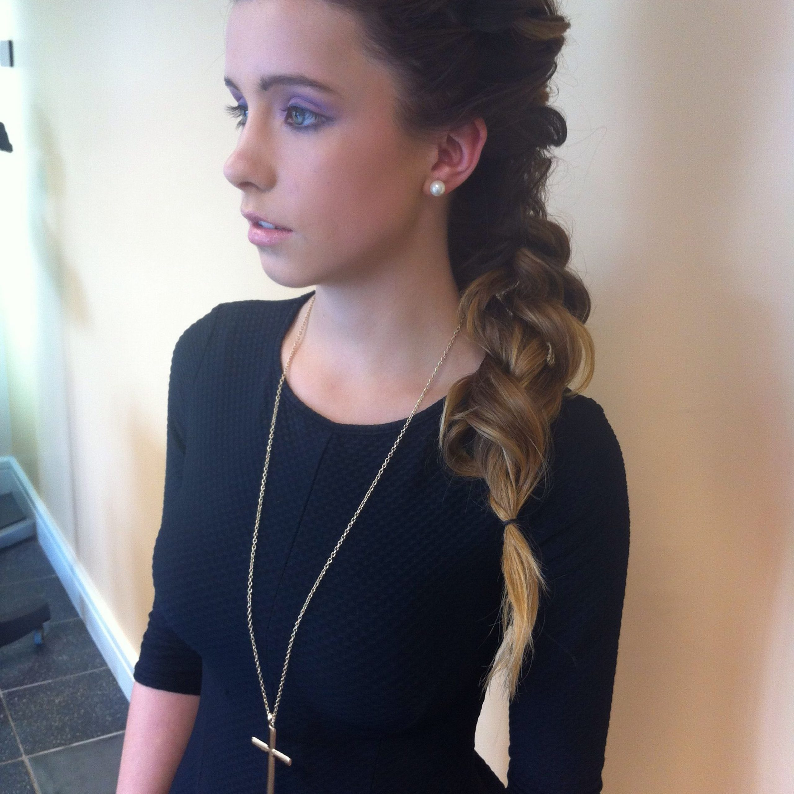 Long Hair With Recent Grecian Inspired Ponytail Braid Hairstyles (View 12 of 20)