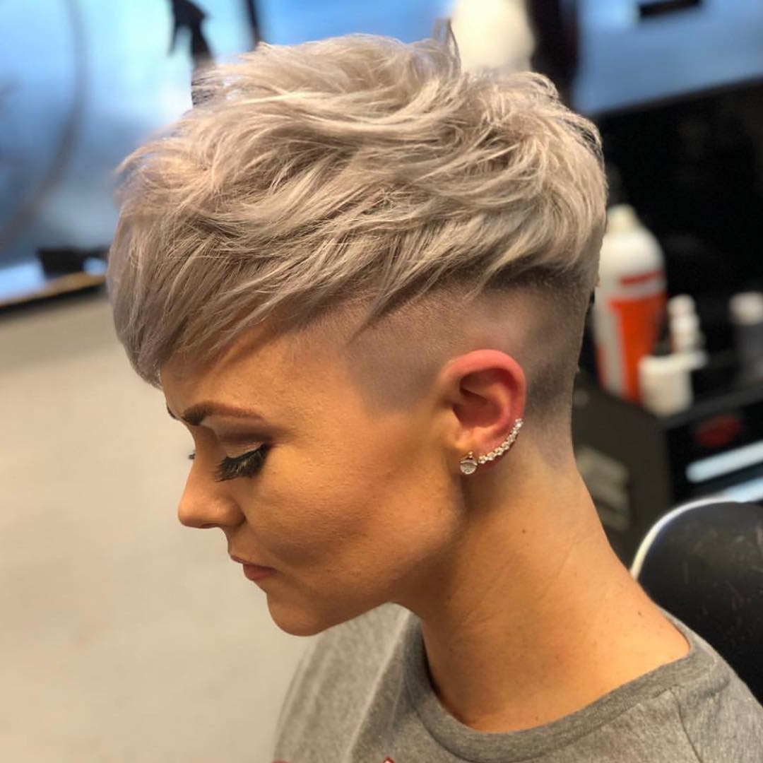 Messy Pixie Haircuts To Refresh Your Face, Women Short Regarding Fashionable Edgy Messy Pixie Haircuts (View 13 of 20)