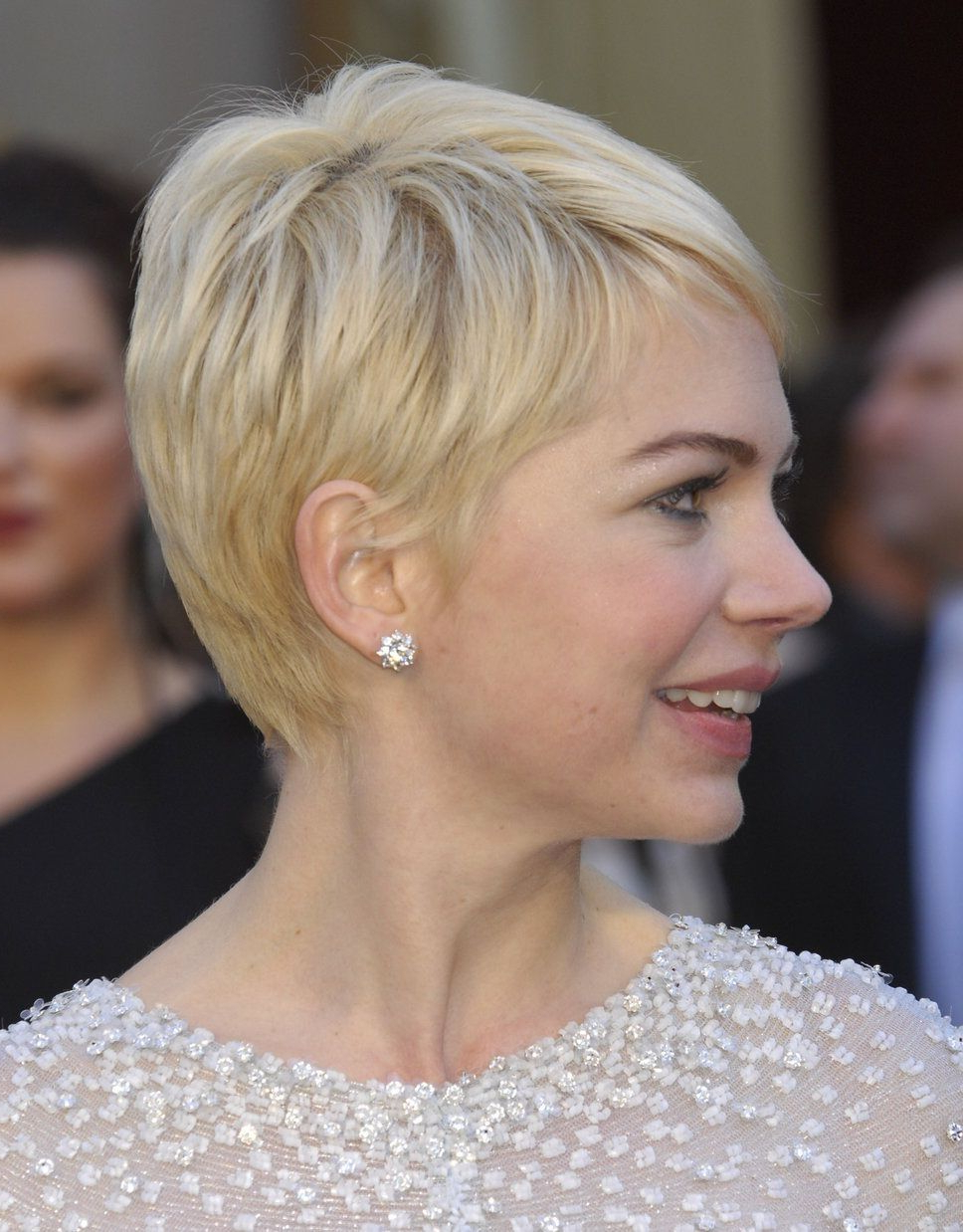 Michelle Williams Pertaining To Latest Michelle Williams Pixie Haircuts (View 7 of 20)