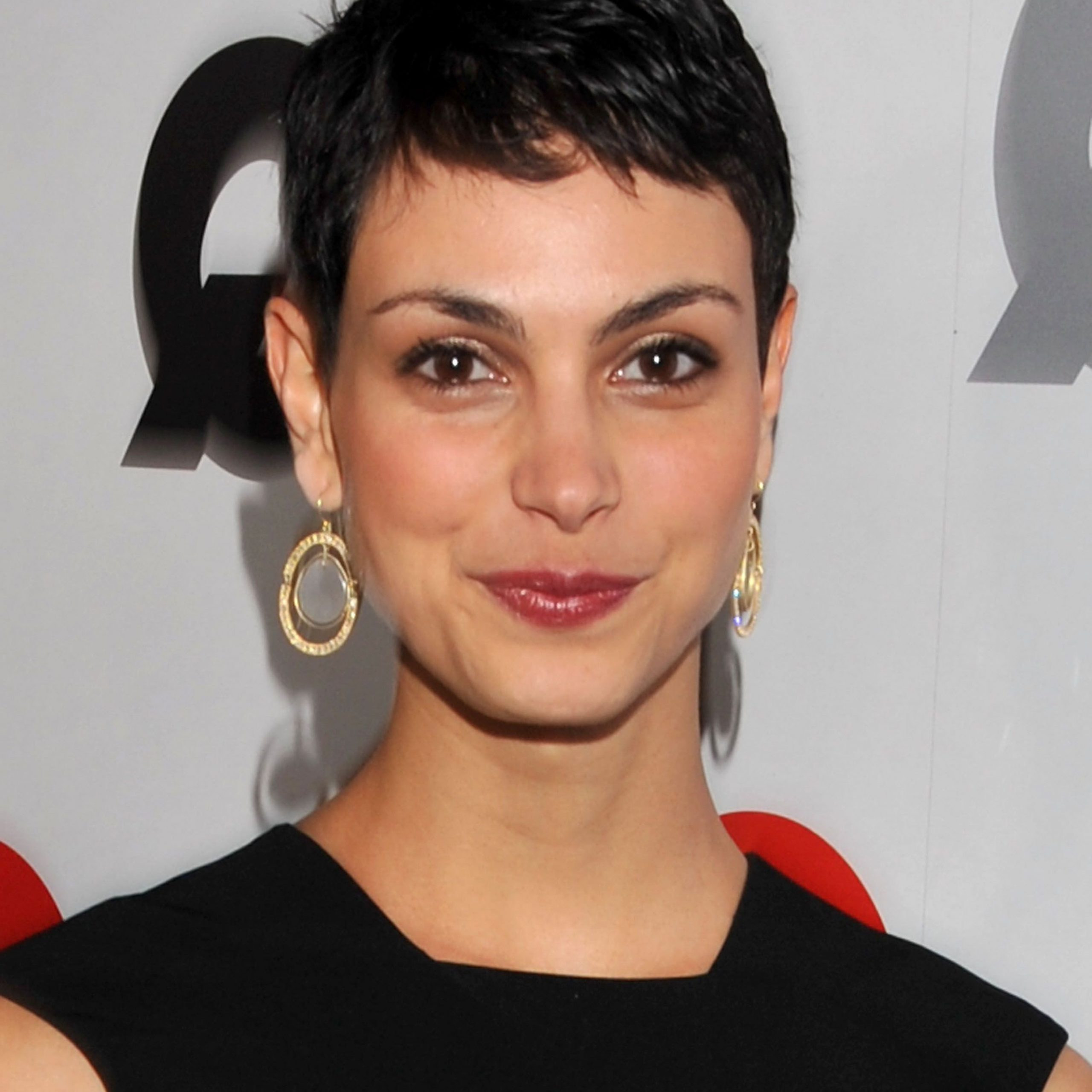 Morena Baccarin, Short Hair Styles, Hair Intended For Current Morena Pixie Haircuts With Bangs (View 9 of 20)