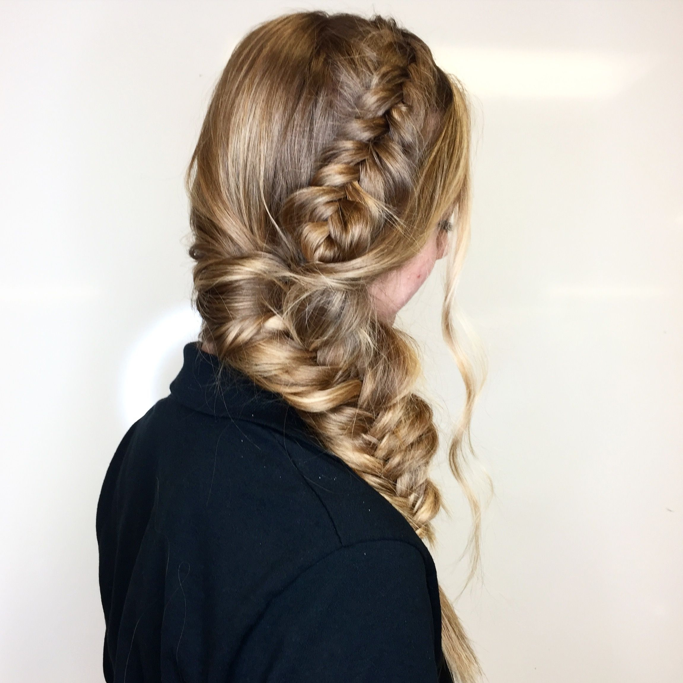 Most Current Fishtail Side Braid Hairstyles For Dutch Fishtail Side Braid Hairstyle ✨ (View 12 of 20)