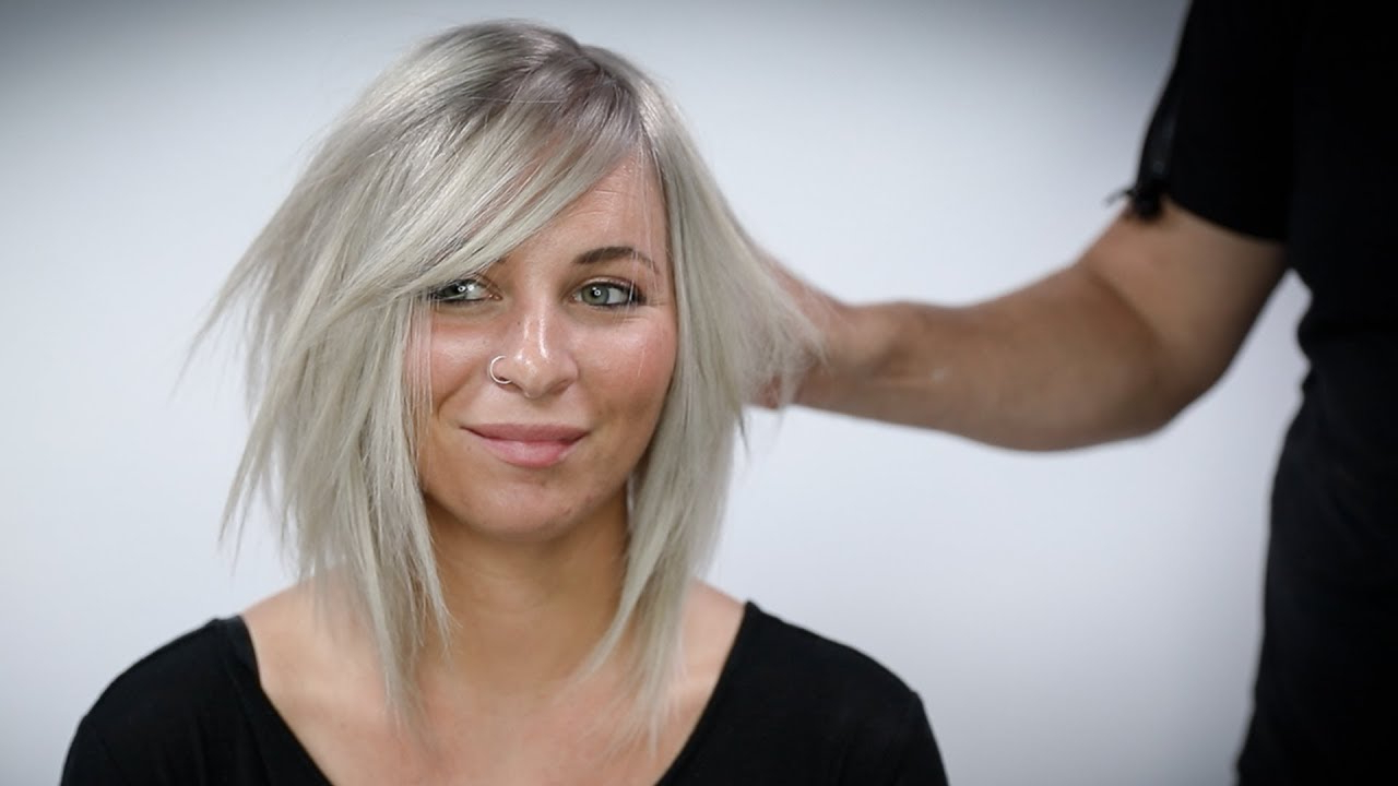 Most Current Long Undercut Hairstyles With Shadow Root Within Silver Blonde Hair Color With Shadow Root Tutorial (View 13 of 20)