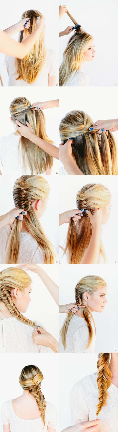 Most Current Messy Side Fishtail Braid Hairstyles For 11 Unique Fishtail Braid Hairstyles With Tutorials And Ideas (View 11 of 20)
