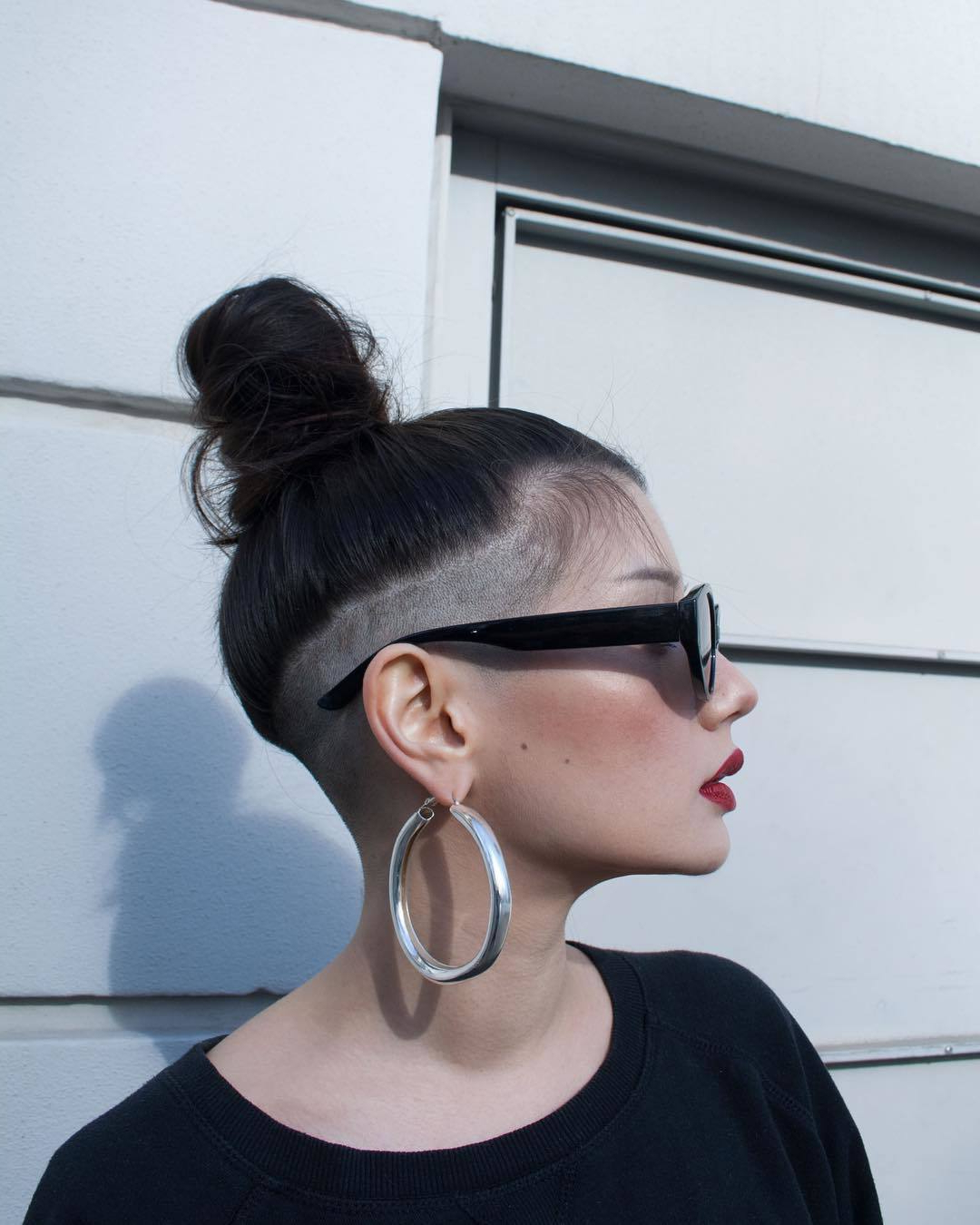 Most Current Shaved Undercuts With 28 Bold Shaved Hairstyles For Women (View 10 of 20)
