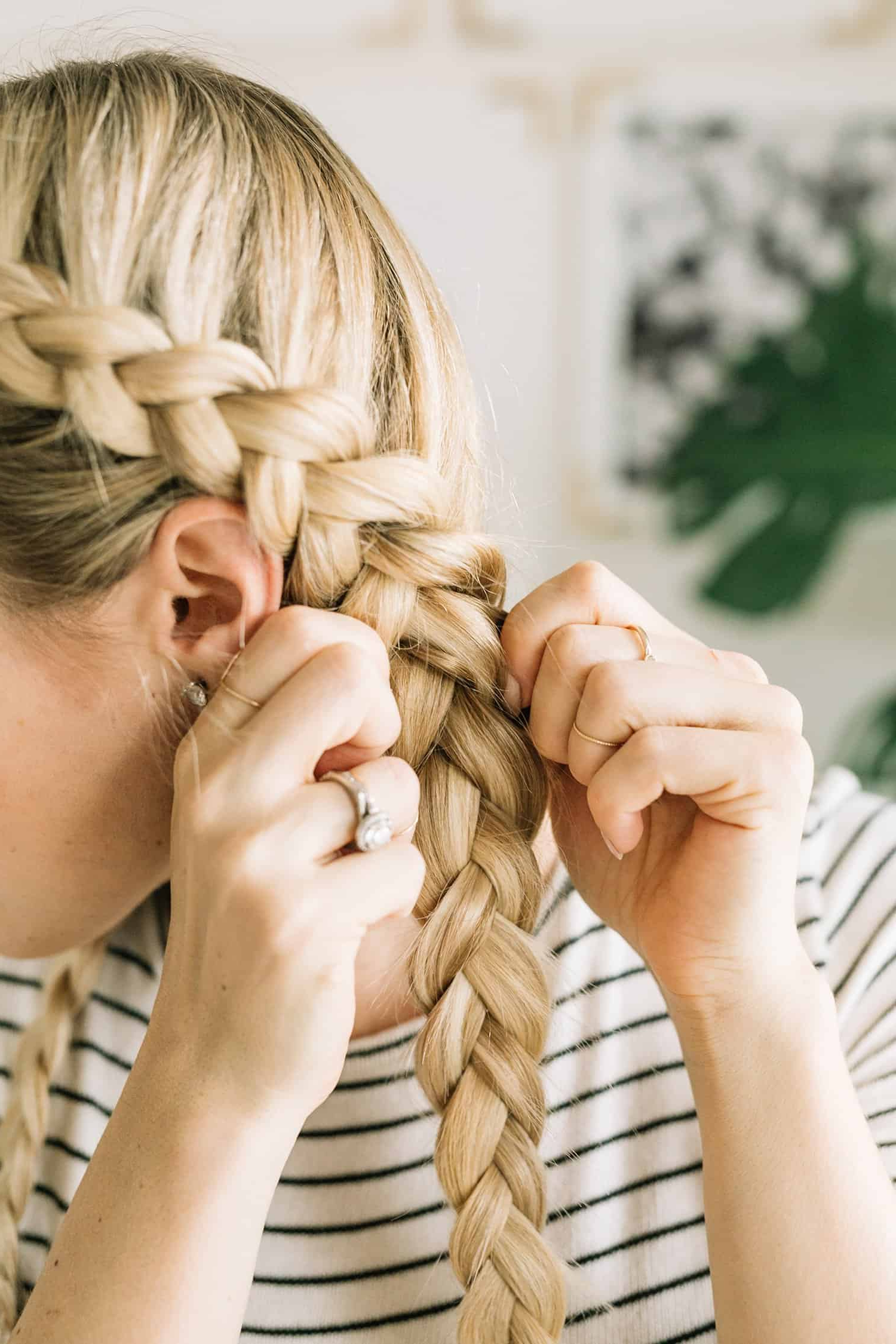 Most Current Side Dutch Braid Hairstyles In Dutch Braid Tutorial – A Beautiful Mess (View 14 of 20)