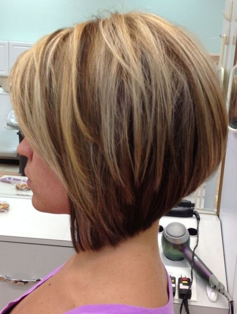 Most Current Stacked Swing Bob Hairstyles For Inverted Bob Hairstyle Back View 38 With Inverted Bob (View 4 of 20)
