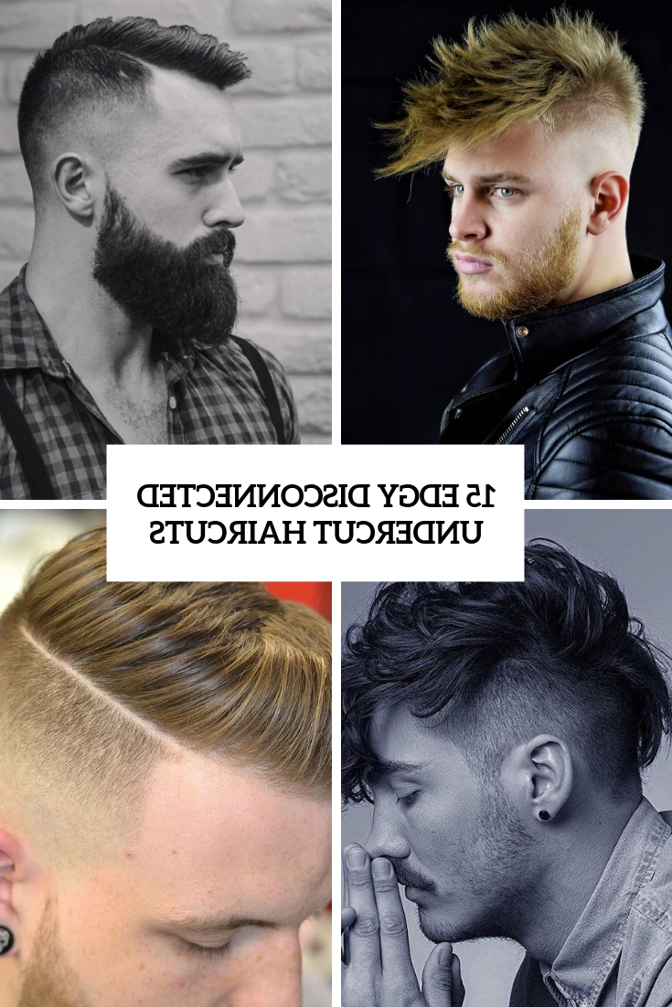 Most Popular Disconnected Pixie Haircuts With An Undercut Pertaining To 15 Edgy Disconnected Undercut Haircuts – Styleoholic (View 13 of 20)