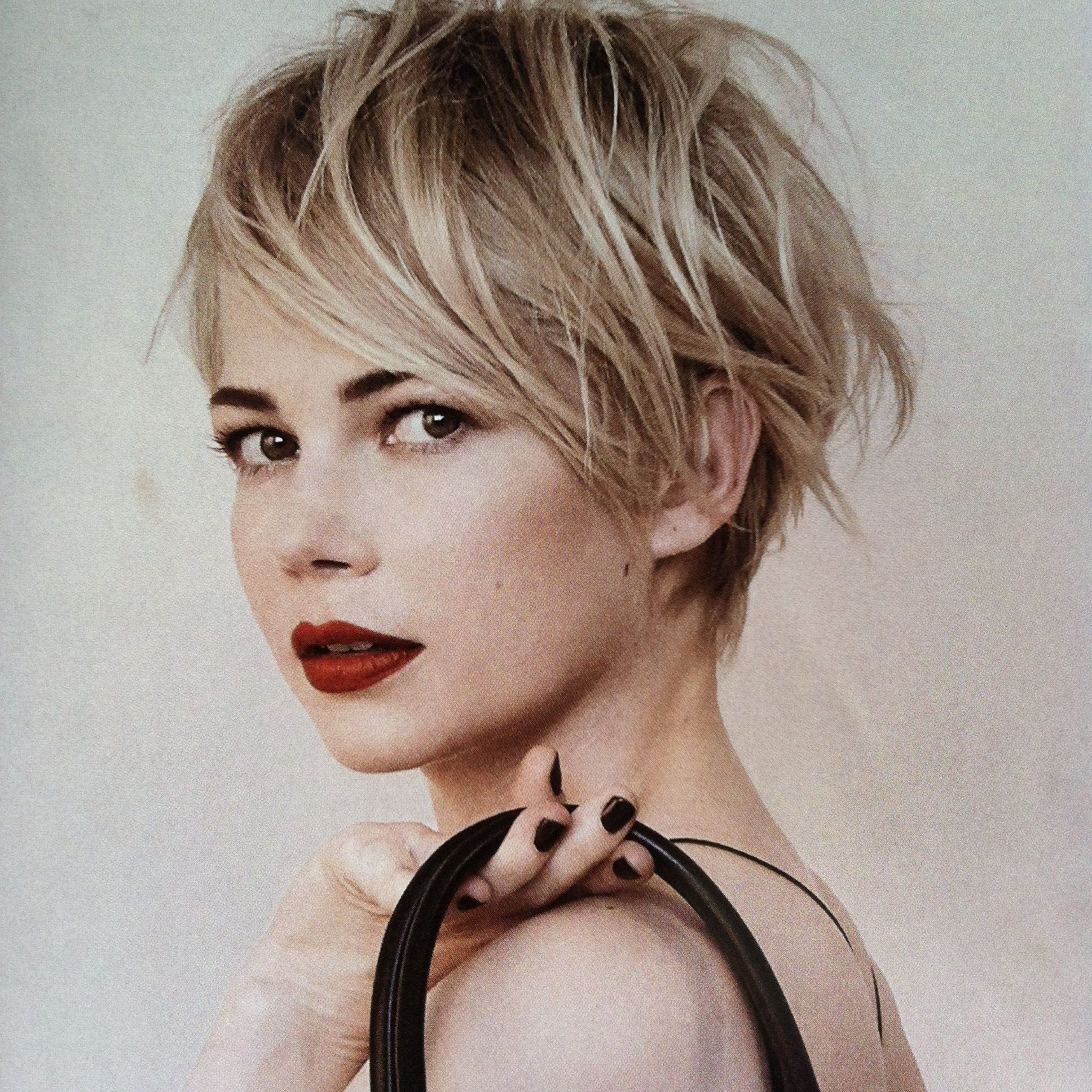 Most Popular Michelle Williams Pixie Haircuts Regarding Michelle Williams Pixielove! I'm Getting Ready To Go For (View 8 of 20)