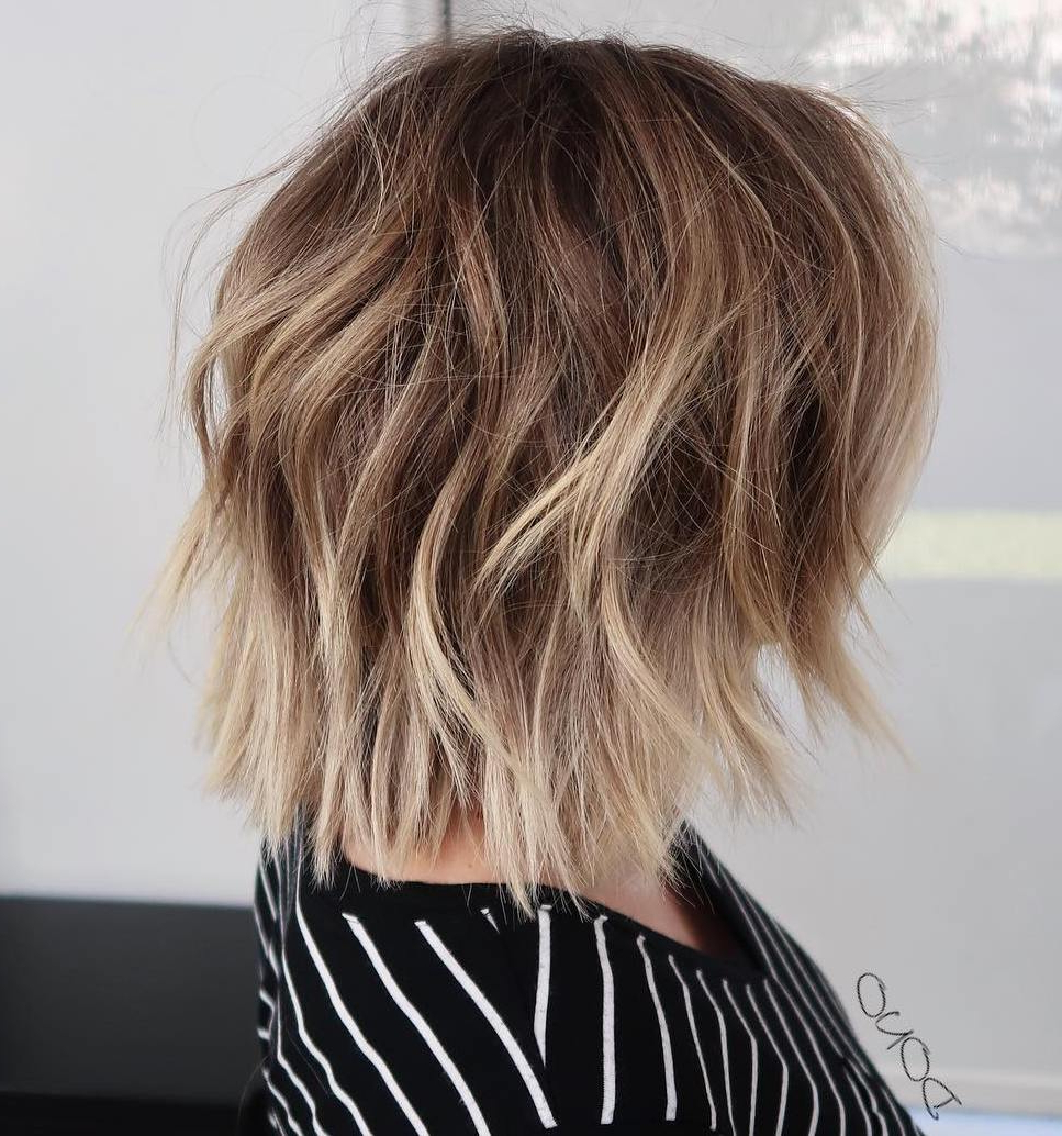 Most Popular Perfect Shaggy Bob Hairstyles For Thin Hair Intended For Bombastic Medium Length Hairstyles For Thin Hair To Sport In (View 3 of 20)
