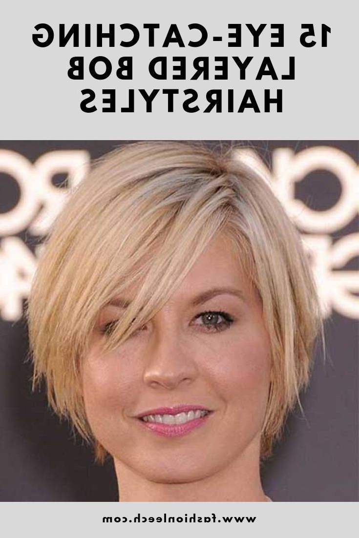 Most Popular Rounded Sleek Bob Hairstyles With Minimal Layers Within 15 Eye Catching Layered Bob Hairstyles You Cannot Resist (View 9 of 20)
