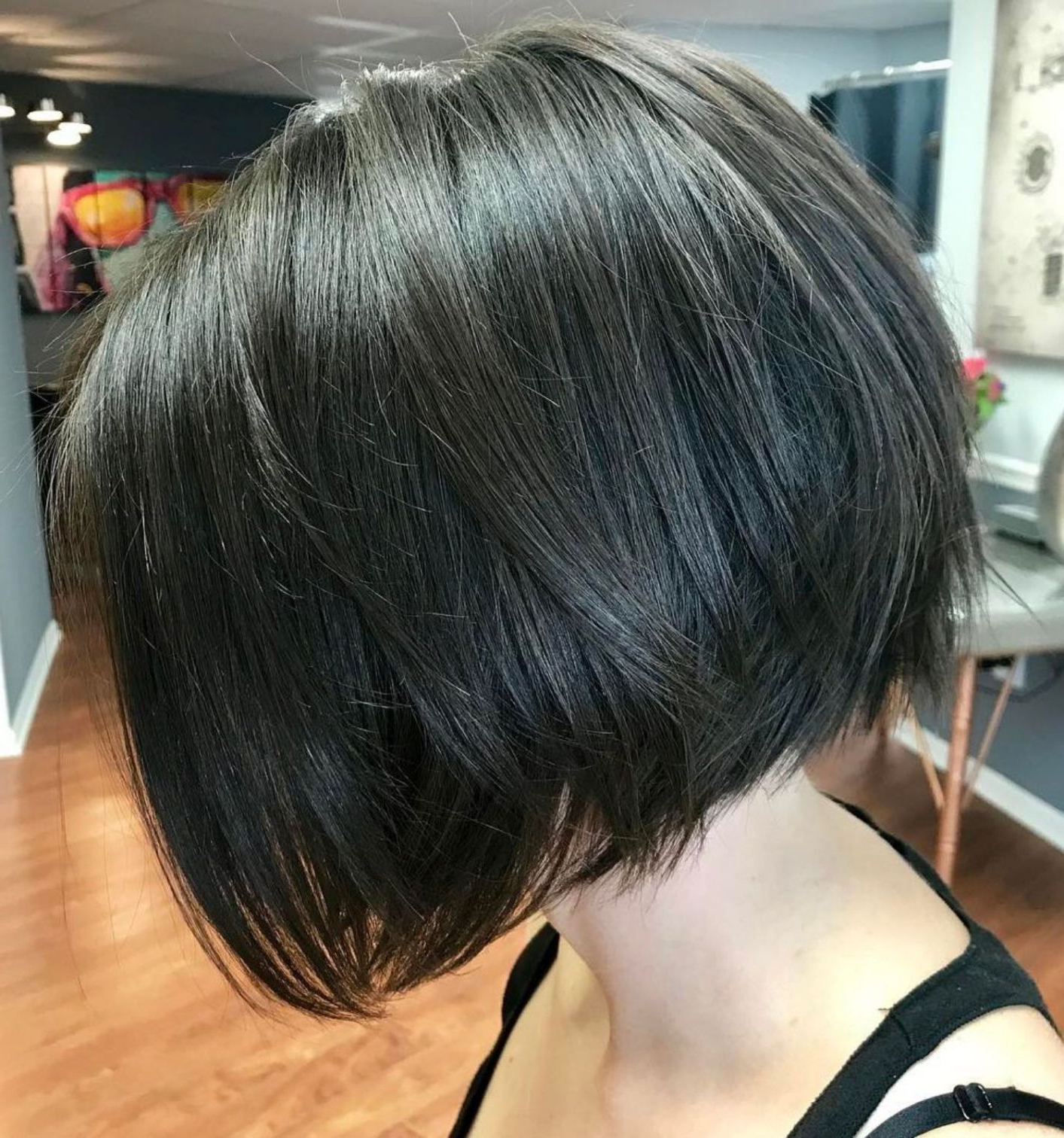 Most Popular Shiny Strands Blunt Bob Hairstyles Throughout 70 Fabulous Choppy Bob Hairstyles (View 4 of 20)