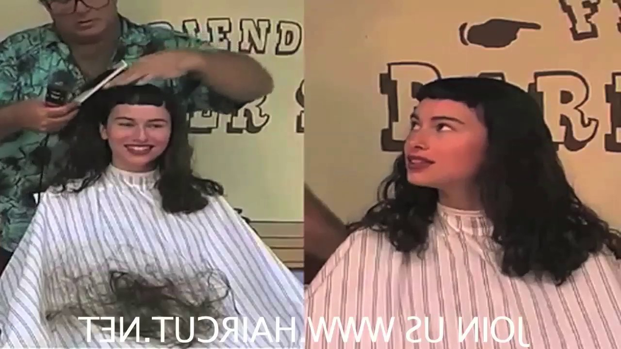 "Most Popular Smooth Shave Pixie Haircuts Inside 089 ""pixie/shave"" Monica Gets Liz Taylor Pixie Then Shaved Smooth Dvd 89 Haircut Pls Subscribe (View 10 of 20)"