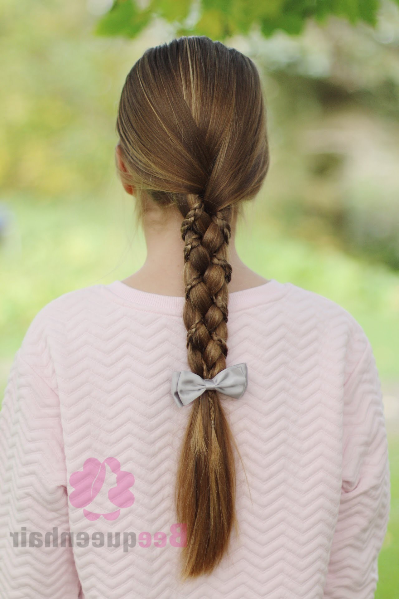 Most Popular Three Strand Pigtails Braid Hairstyles Inside Easy And Beautiful Braids For Girls Who Have Long Hair (View 13 of 20)