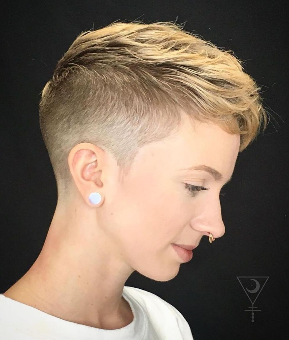 Most Recent Androgynous Pixie Haircuts Inside 60 Cute Short Pixie Haircuts – Femininity And Practicality (View 2 of 20)