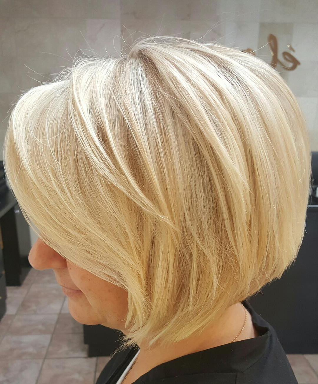 [%most Recent Concave Bob Hairstyles Within 55 Short Layered Bob Hairstyles — [which One Is The Best To|55 Short Layered Bob Hairstyles — [which One Is The Best To Within Preferred Concave Bob Hairstyles%] (View 9 of 20)