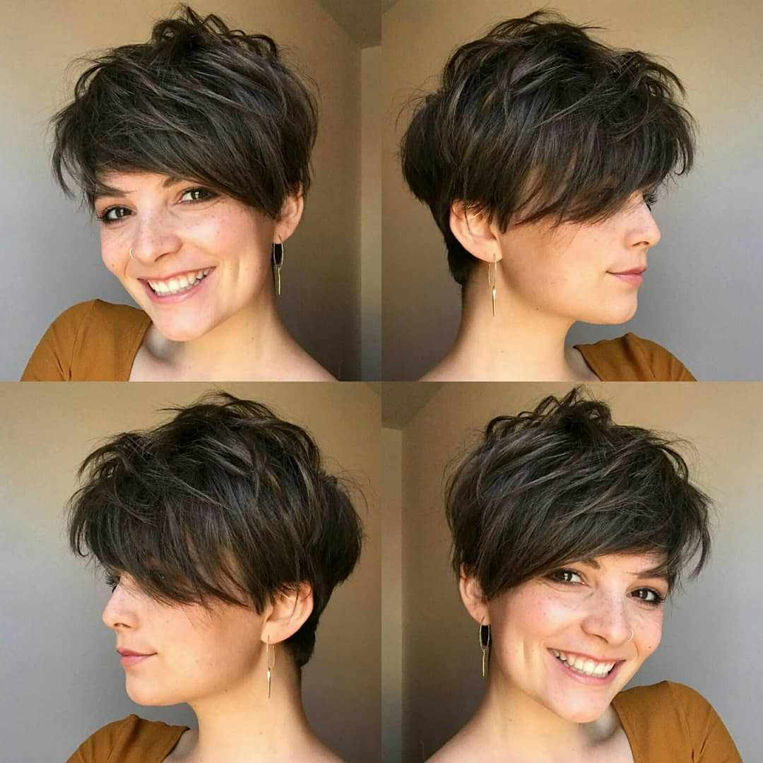 Most Recent Short Feathered Bob Crop Hairstyles Regarding 30 Roaring And Attractive Short Hairstyles 2020 – Haircuts (View 15 of 20)