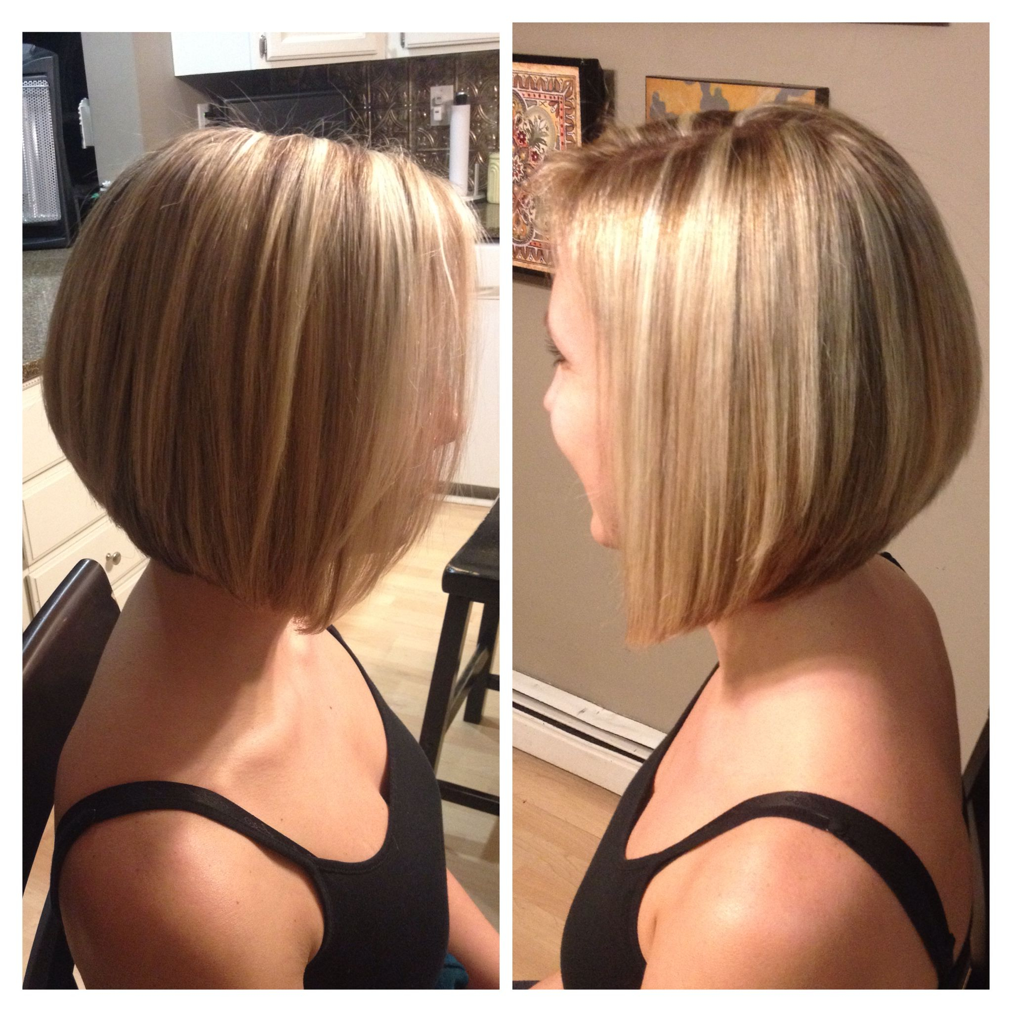 Most Recently Released Graduated Angled Bob Hairstyles Intended For Pin On Hair (View 13 of 20)
