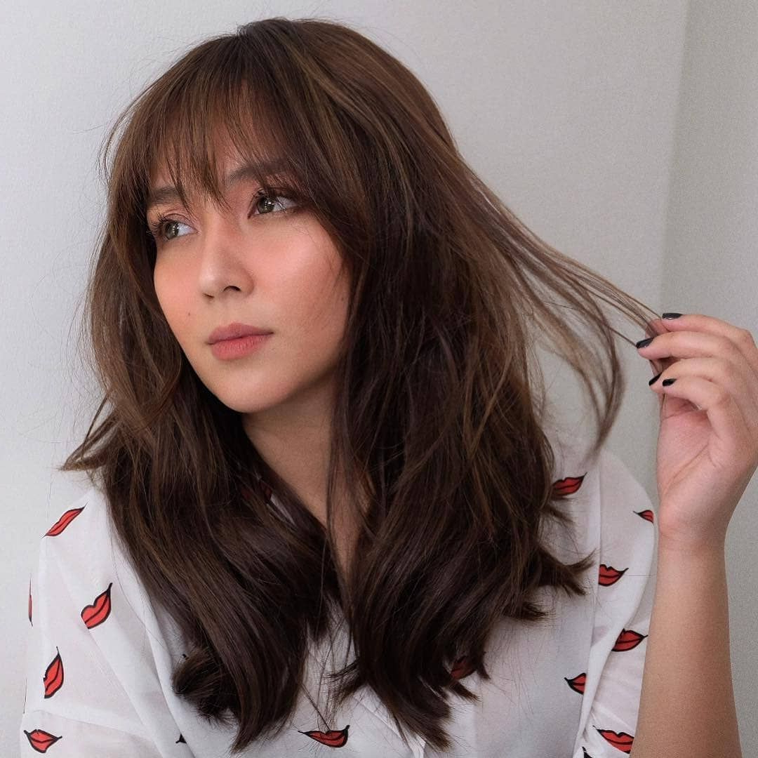 Most Recently Released Morena Pixie Haircuts With Bangs Inside Kathryn Bernardo 🌟 (View 12 of 20)