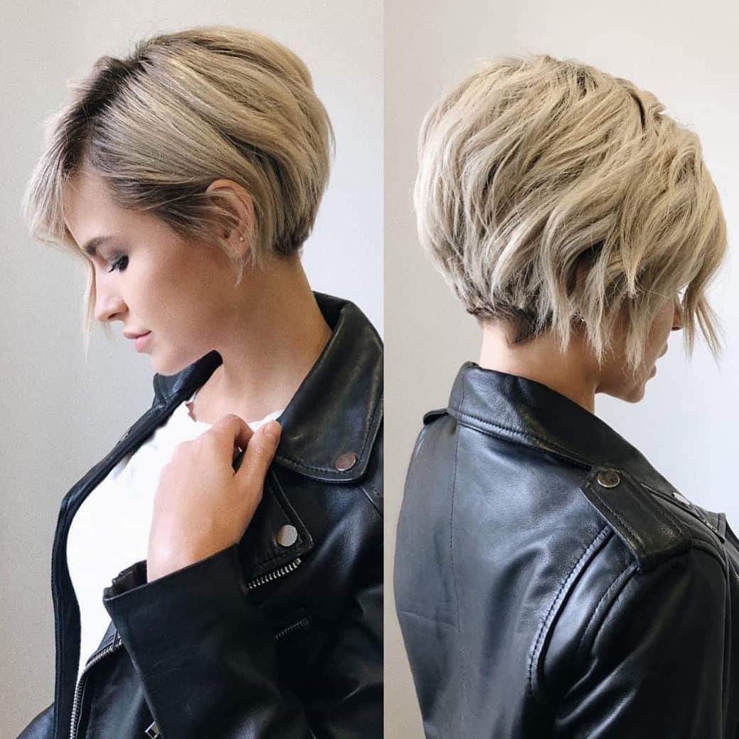 Most Recently Released Shattered Choppy Bangs Pixie Haircuts For 10 Best Short Hairstyles For Thick Hair – Short Haircuts For (View 13 of 20)