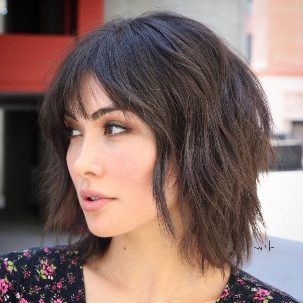 Most Recently Released Shattered Choppy Bangs Pixie Haircuts Pertaining To 14 Short Choppy Bob Haircuts To See Before Your Next Cut (View 7 of 20)