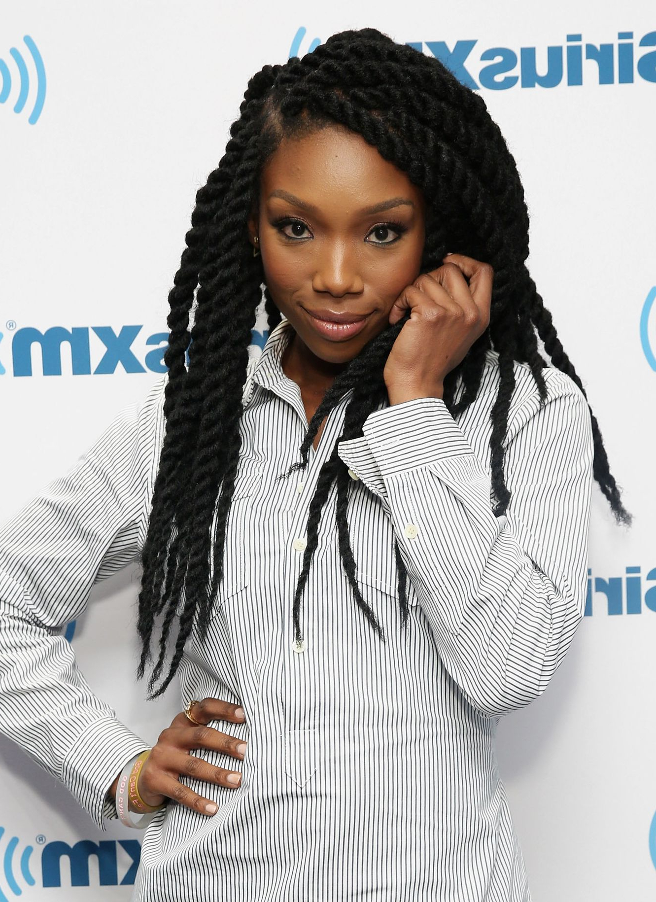 Most Recently Released Three Strand Long Side Braid Hairstyles Regarding 30 Easy Natural Hairstyles For Black Women – Short, Medium (View 16 of 20)