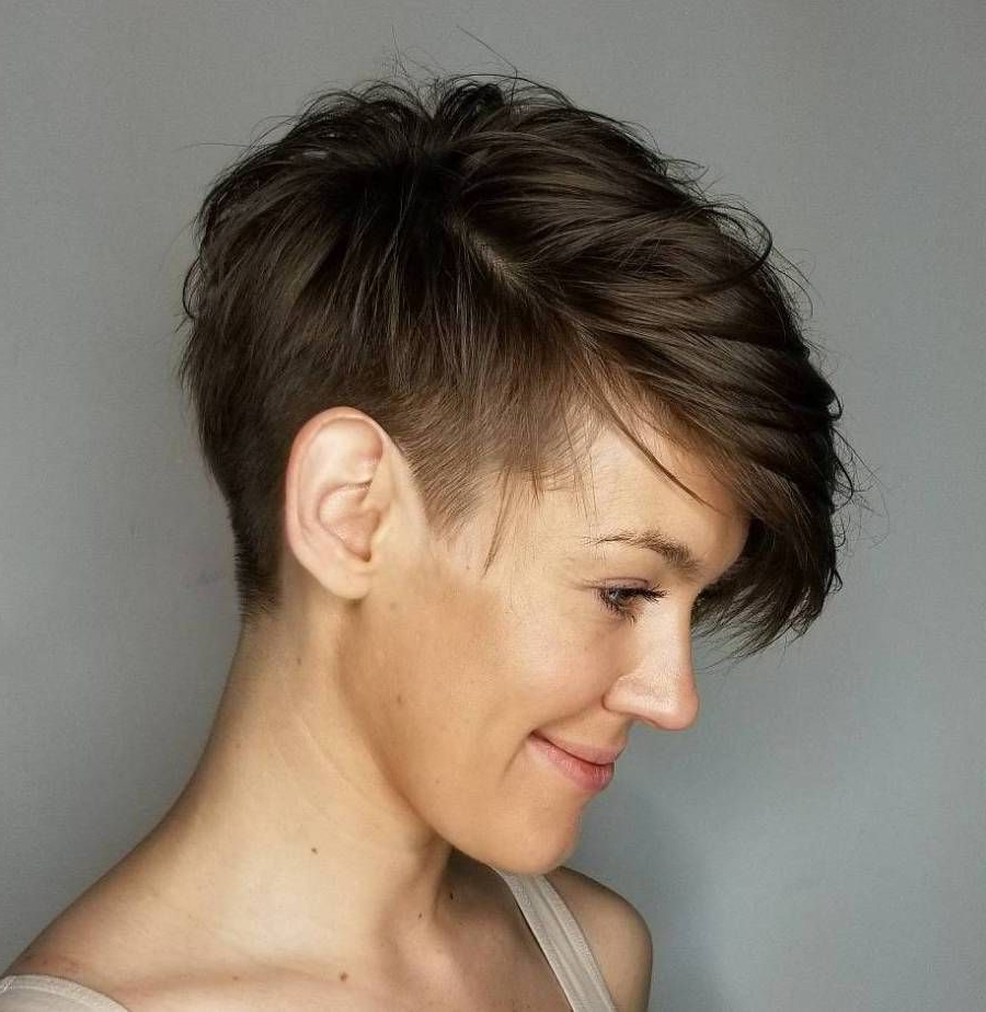 Most Up To Date Androgynous Pixie Haircuts Inside Pin On 2019 Short Hair Trends (View 12 of 20)