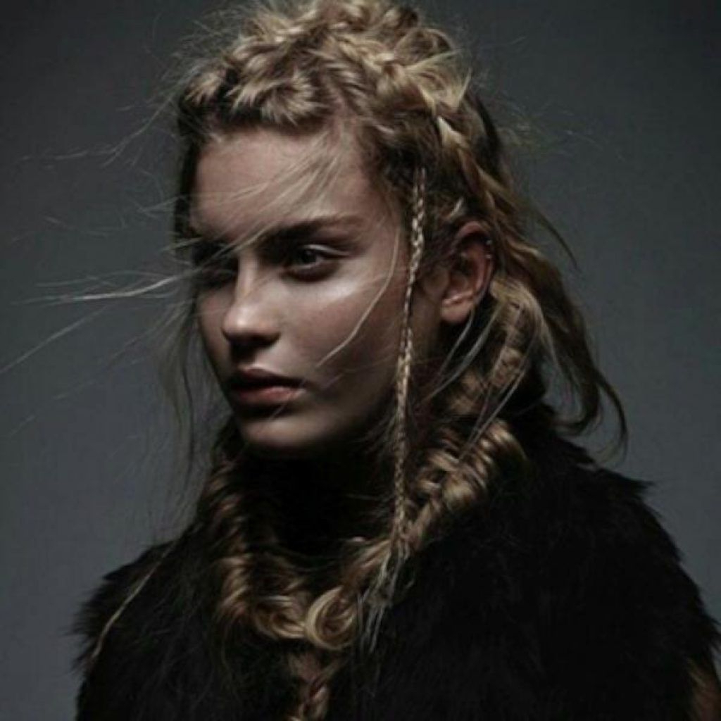 Most Up To Date Asymmetrical French Braid Hairstyles In French Braid Viking Cool Braided Hairstyles For Women (View 16 of 20)