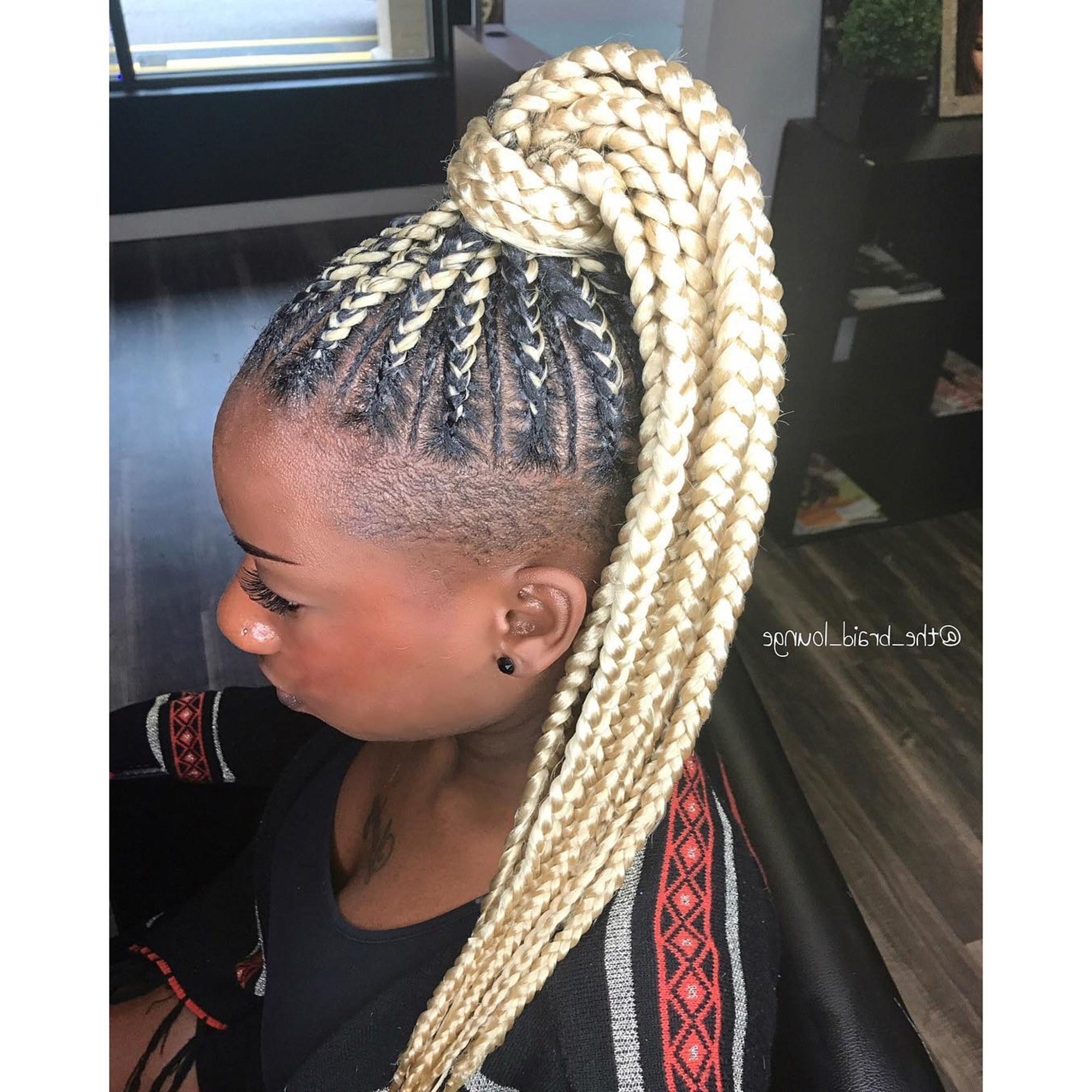 Most Up To Date Crown Cornrow Hairstyles Pertaining To 31 Best Black Braided Hairstyles To Try In (View 7 of 20)