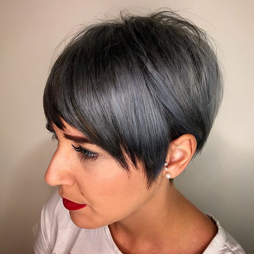 Most Up To Date Metallic Short And Choppy Pixie Haircuts With 50 Hottest Pixie Cut Hairstyles In (View 10 of 20)