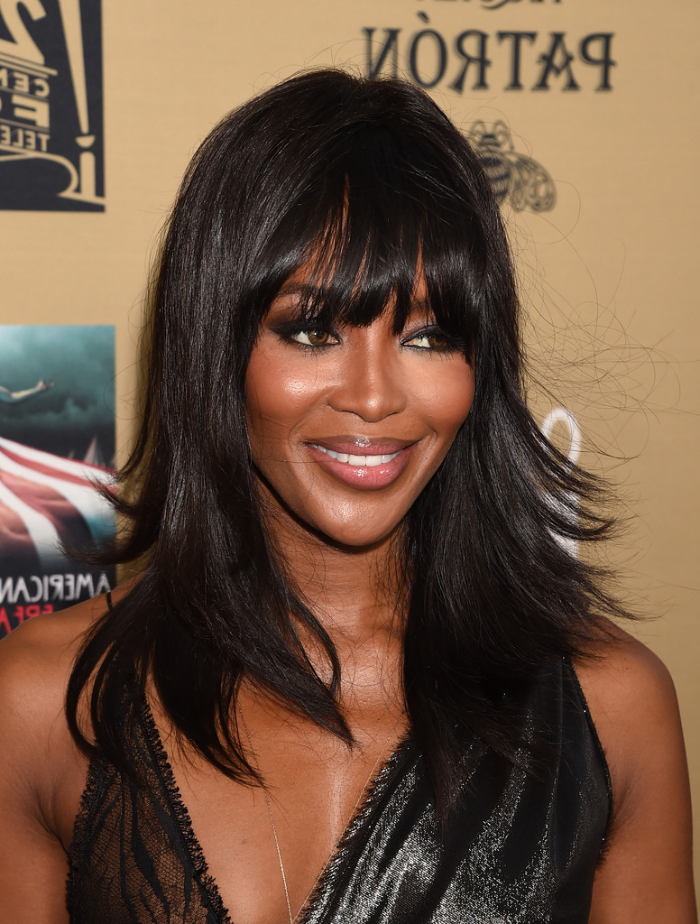 Naomi Campbell Layered Cut – Long Hairstyles Lookbook Regarding Latest Flippy Layers Hairstyles (View 18 of 20)