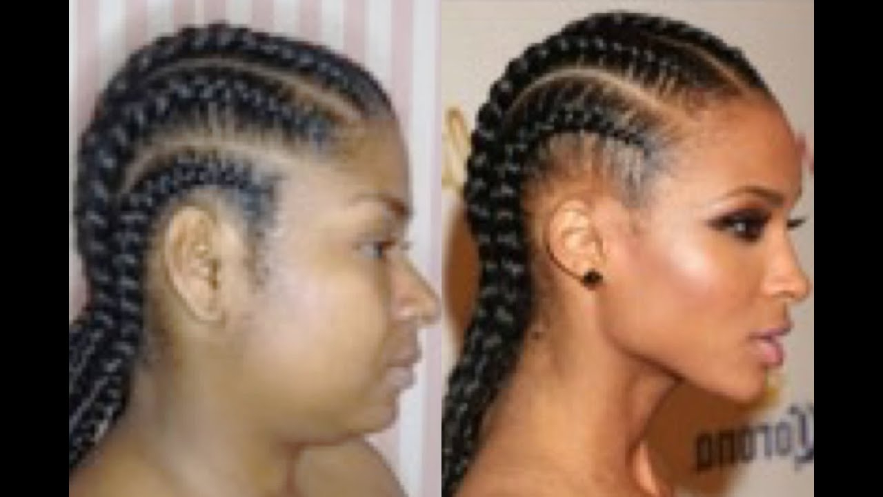 Natural Hair Pertaining To 2019 Straight Backs Braids Hairstyles (View 17 of 20)