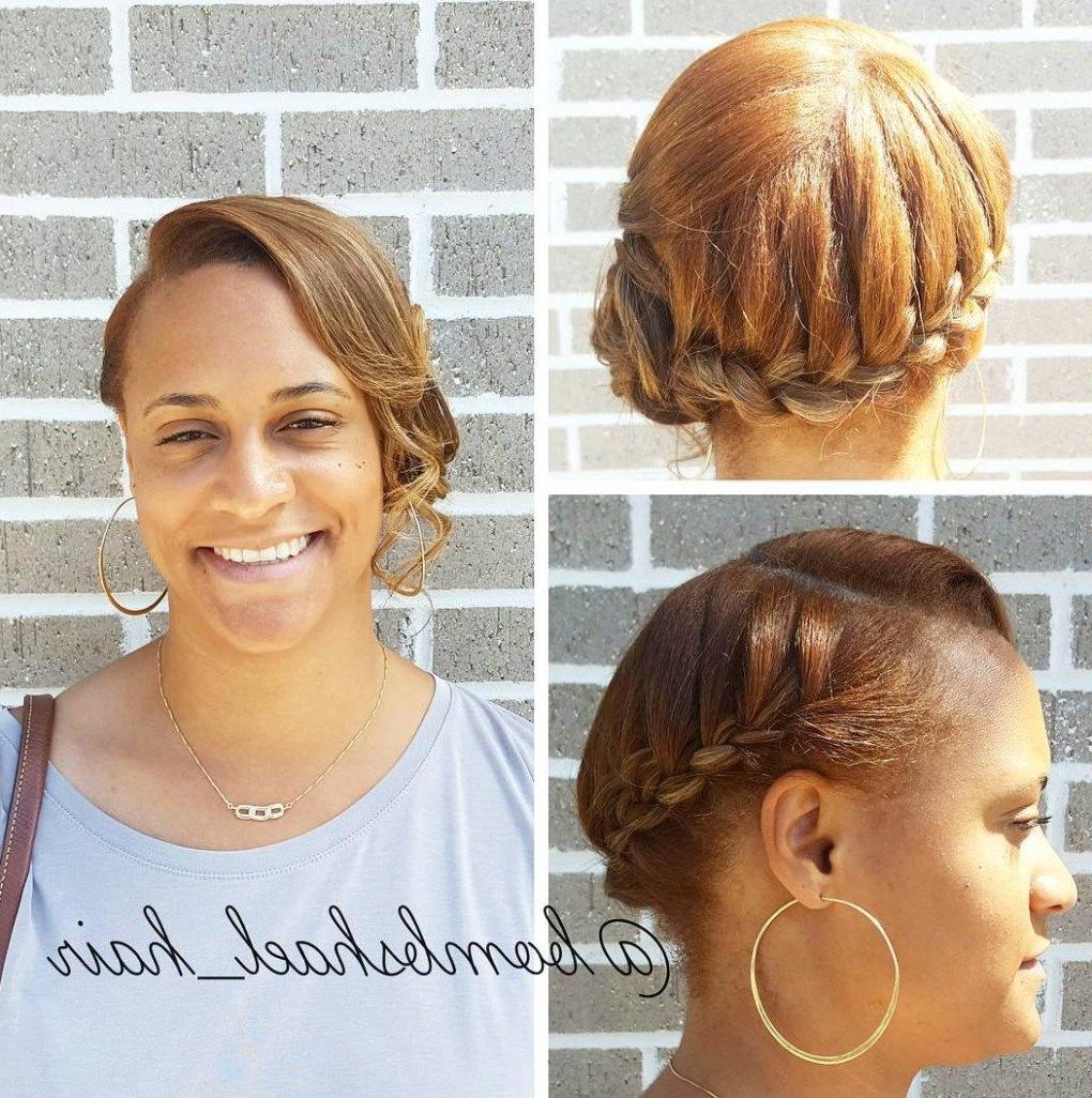 Natural Hair Updo, Natural (View 4 of 20)