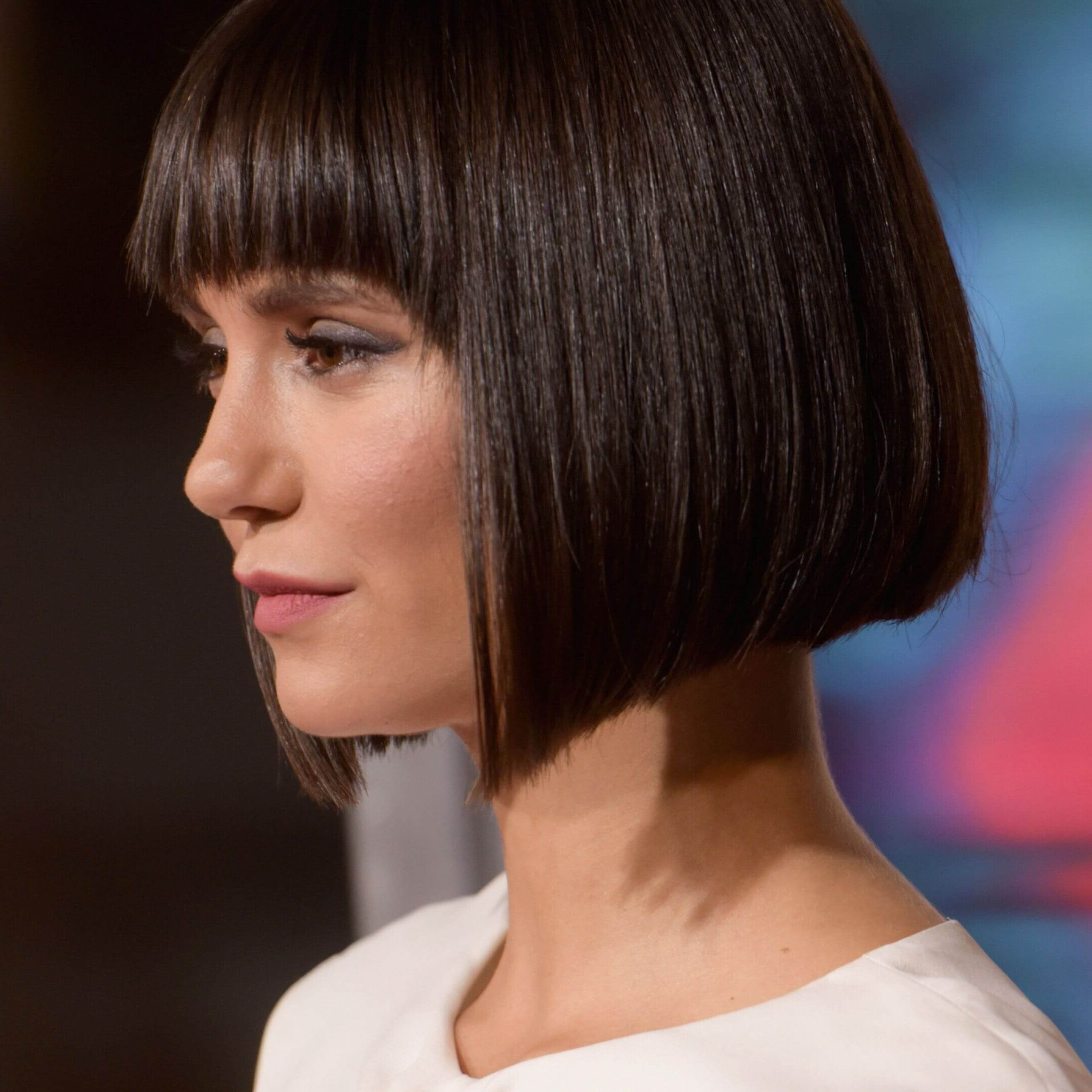 Newest Bob Hairstyles With Bangs In 40 Best Bob Hairstyles And Haircuts For All Ages Women (View 17 of 20)