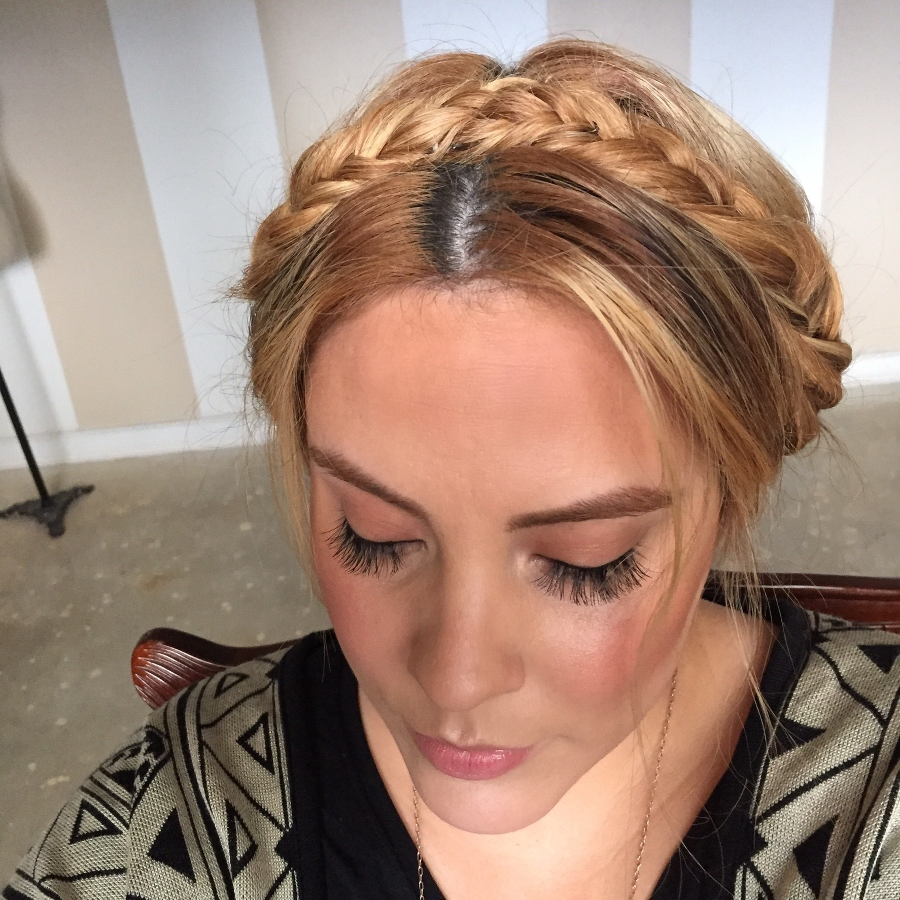 Newest Full Headband Braid Hairstyles For Braided Headband Updo · How To Style A Crown Braid · Beauty (View 17 of 20)