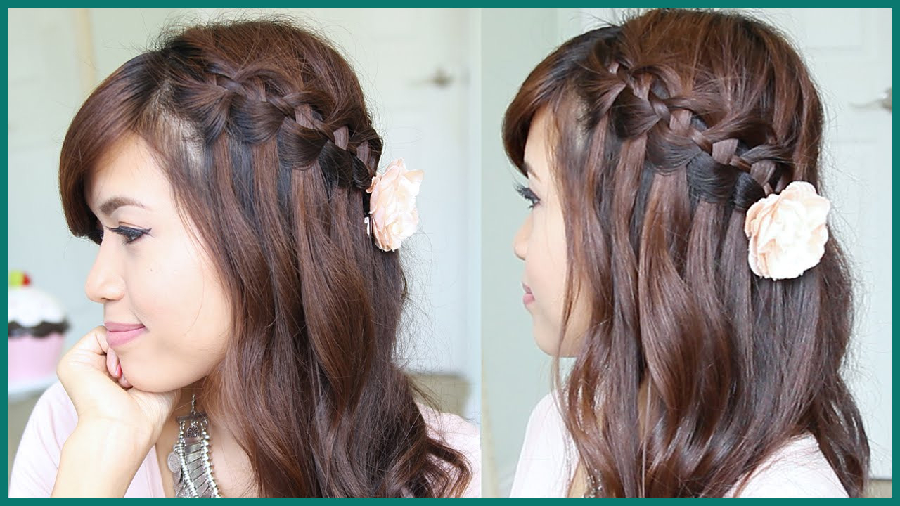 Newest High Waterfall Braid Hairstyles Intended For Braided Hairstyles Archives – Drumsofthunder (View 15 of 20)