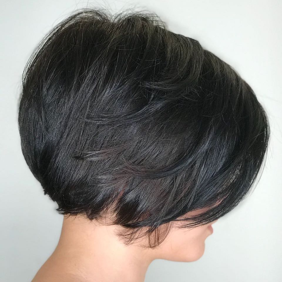 Newest Rounded Short Bob Hairstyles In 45 Short Hairstyles For Fine Hair To Rock In  (View 16 of 20)