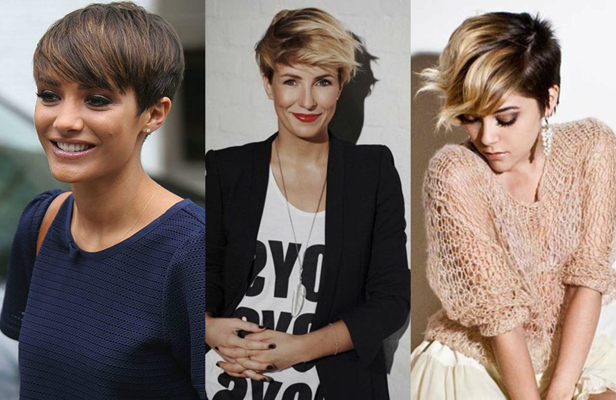 Featured Photo of Short Side Swept Pixie Haircuts With Caramel Highlights