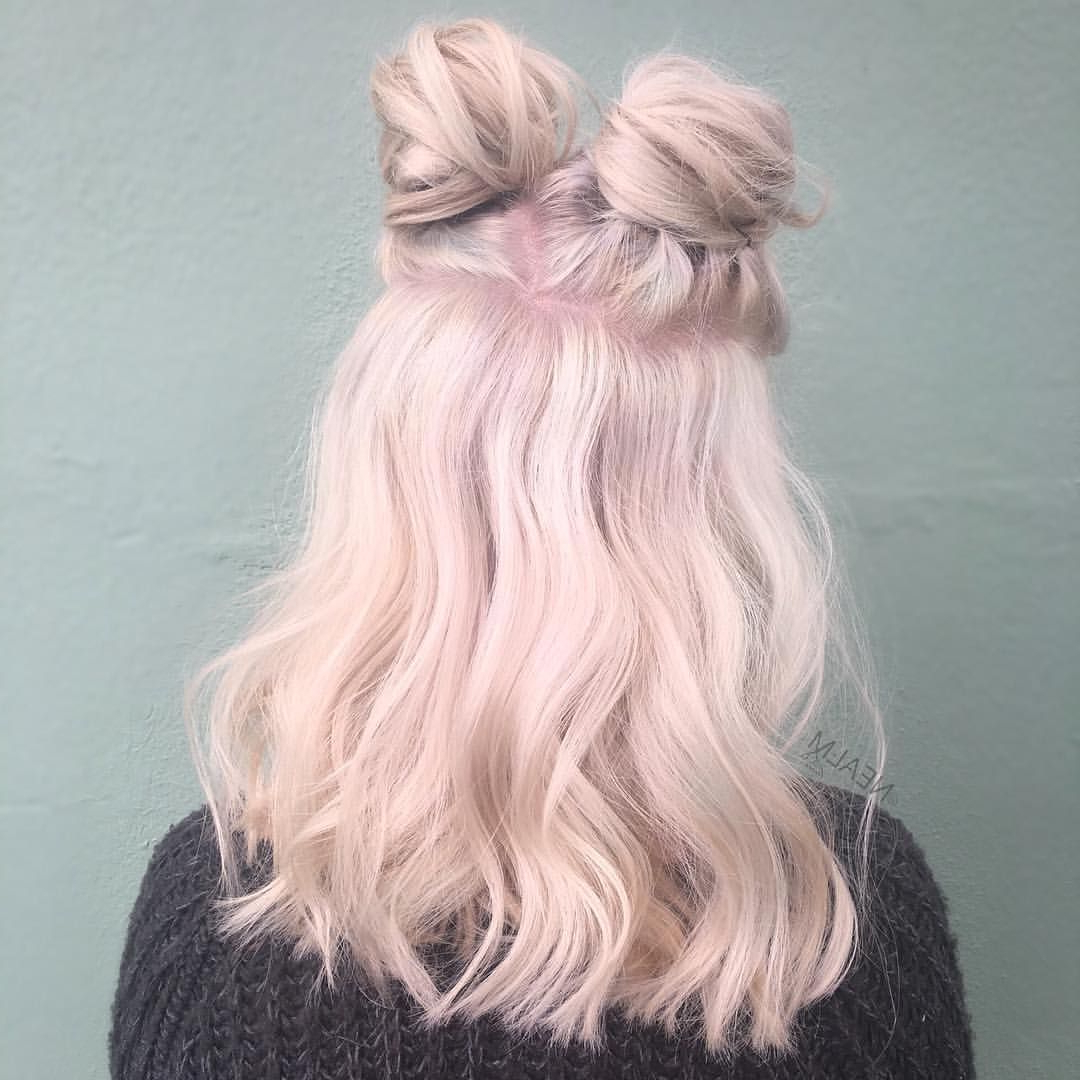 Pastel Pink Hair, Hair Styles Regarding Most Current Baby Pink Braids Hairstyles (View 13 of 20)