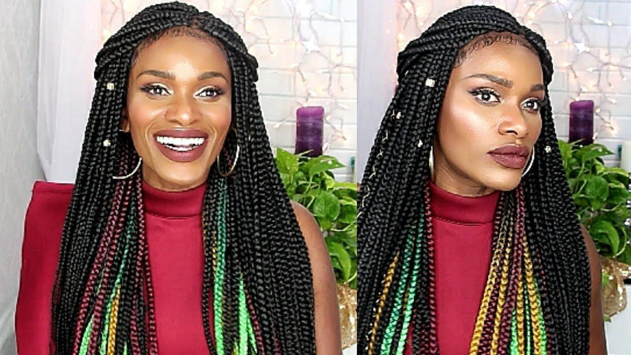Featured Photo of Peek A Boo Braid Hairstyles