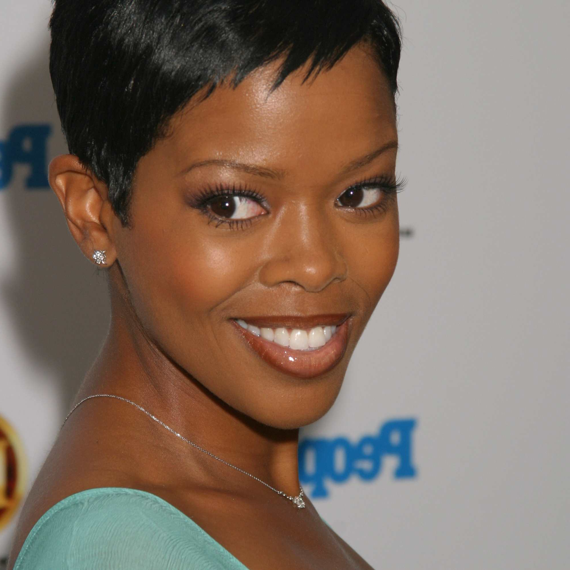 Pictures Of Short Hairstyles For Black Hair Inside 2018 Perfect Pixie Haircuts For Black Women (View 15 of 20)