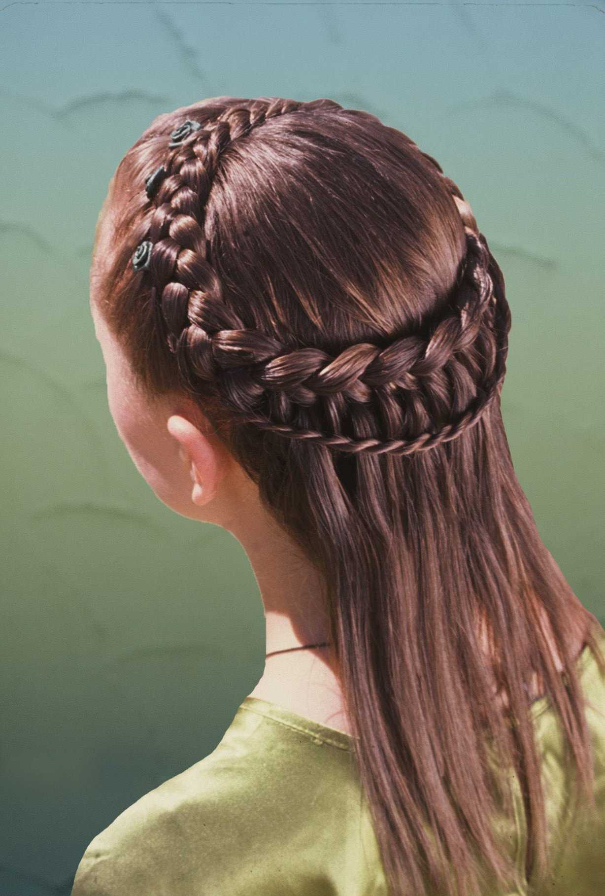 Pin About Braided Hairstyles On Hair. In 2020 Pertaining To Fashionable Asymmetrical French Braid Hairstyles (Gallery 12 of 20)